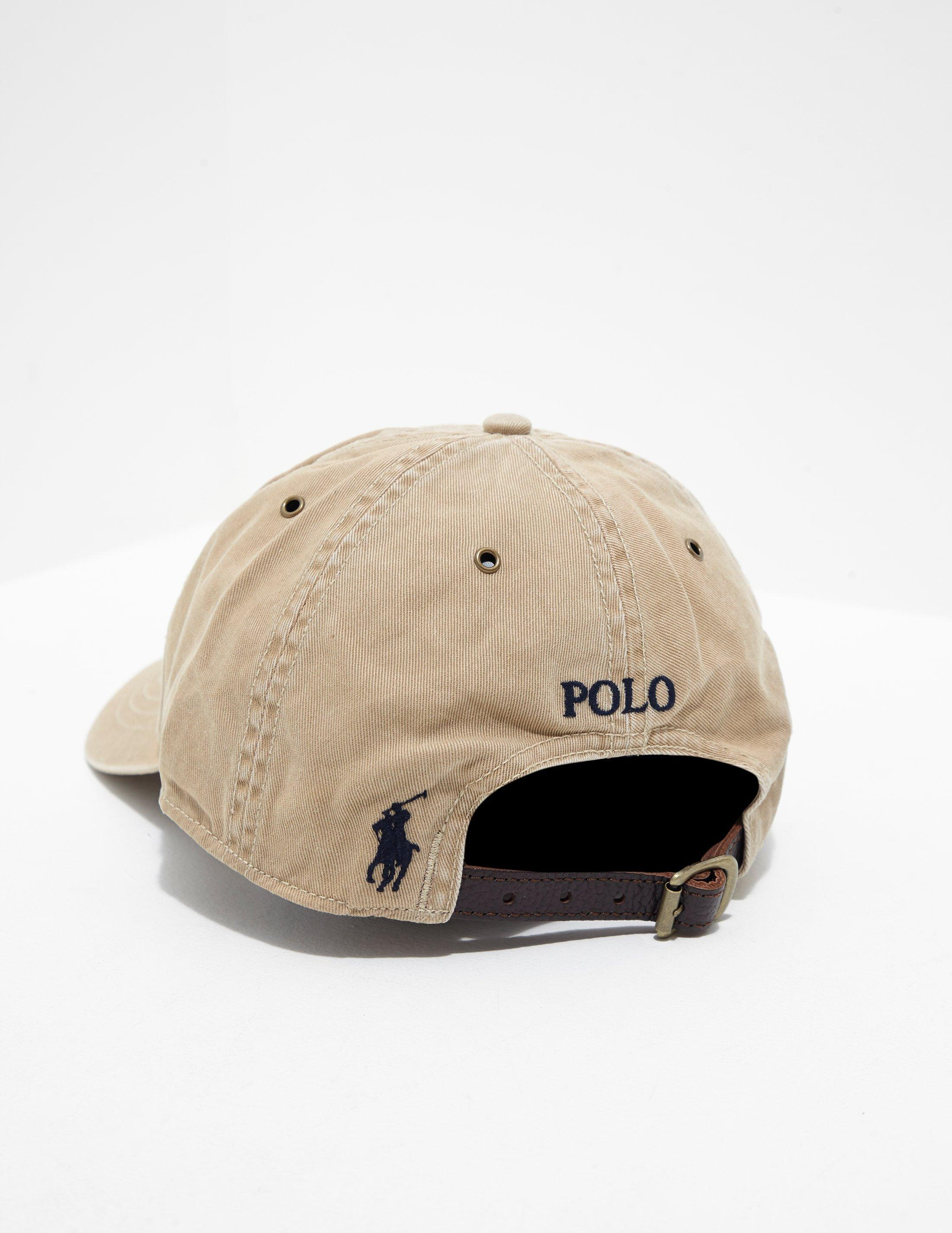 2d5cae74 Polo Ralph Lauren Mens Iconic Flag Cap Tan in Brown for Men - Lyst