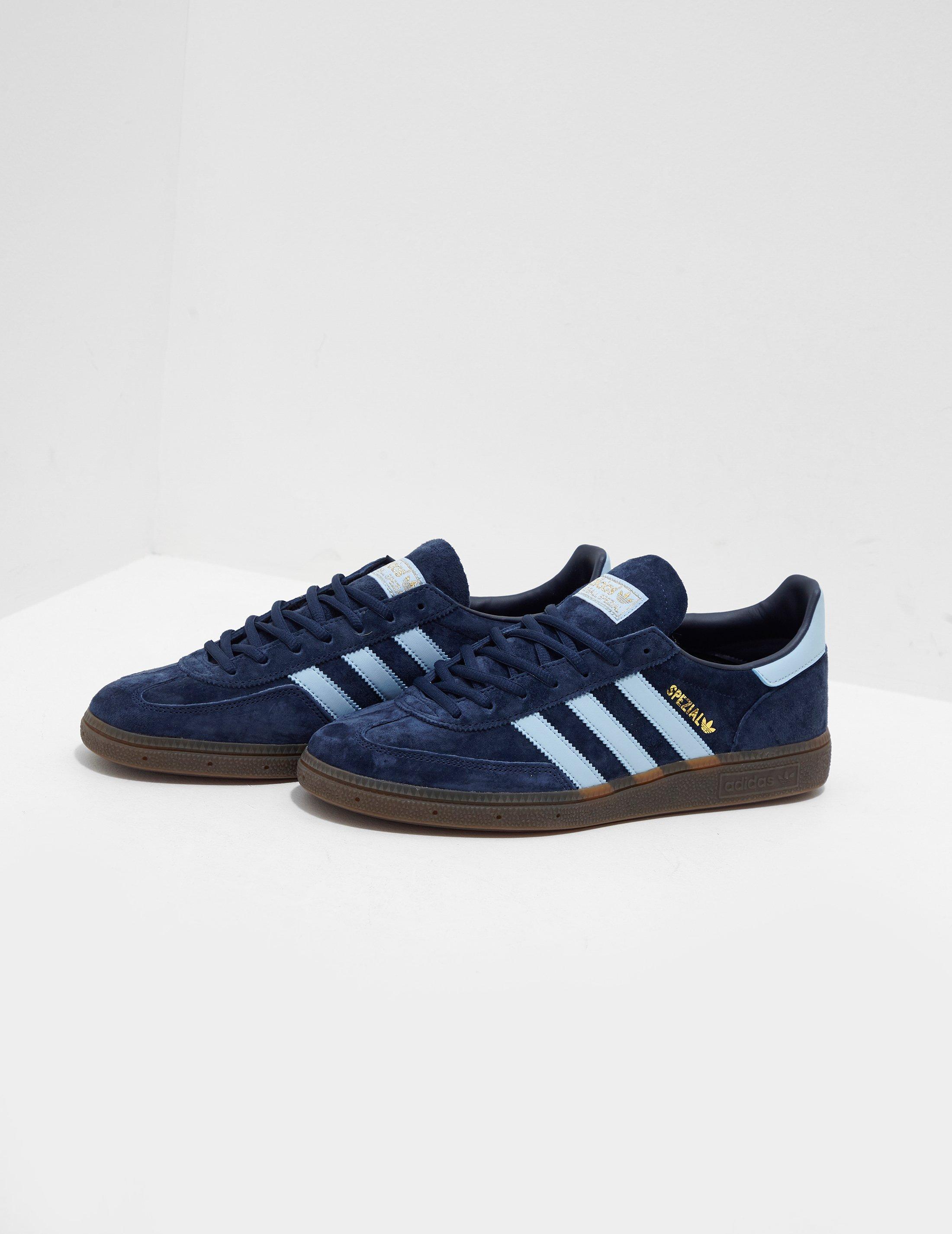 on sale 11825 94c15 Adidas Originals - Handball Spezial Navy Blue for Men - Lyst. View  fullscreen