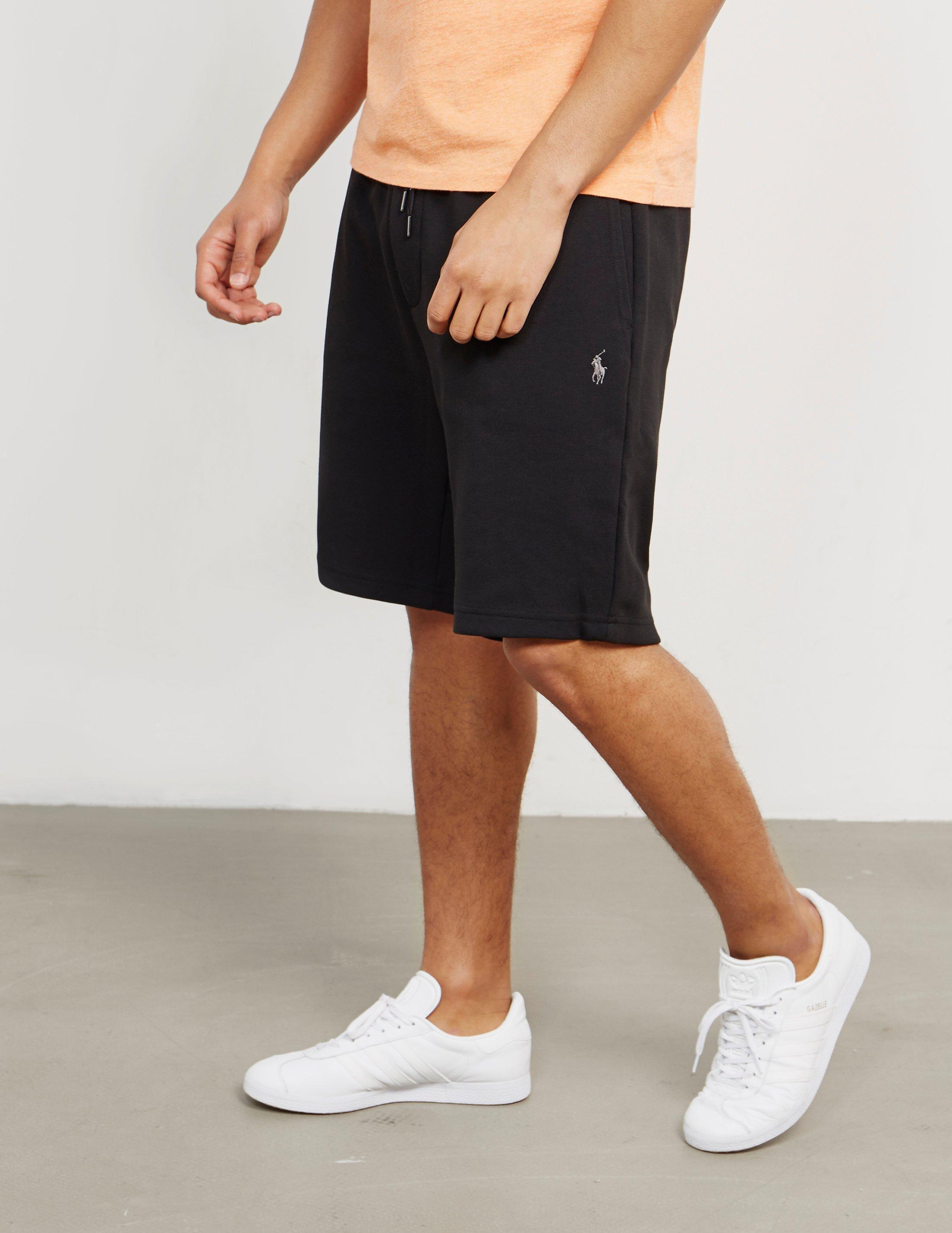 Polo Ralph Lauren Mens Basic Fleece Shorts Black in Black for Men - Lyst a57f38339