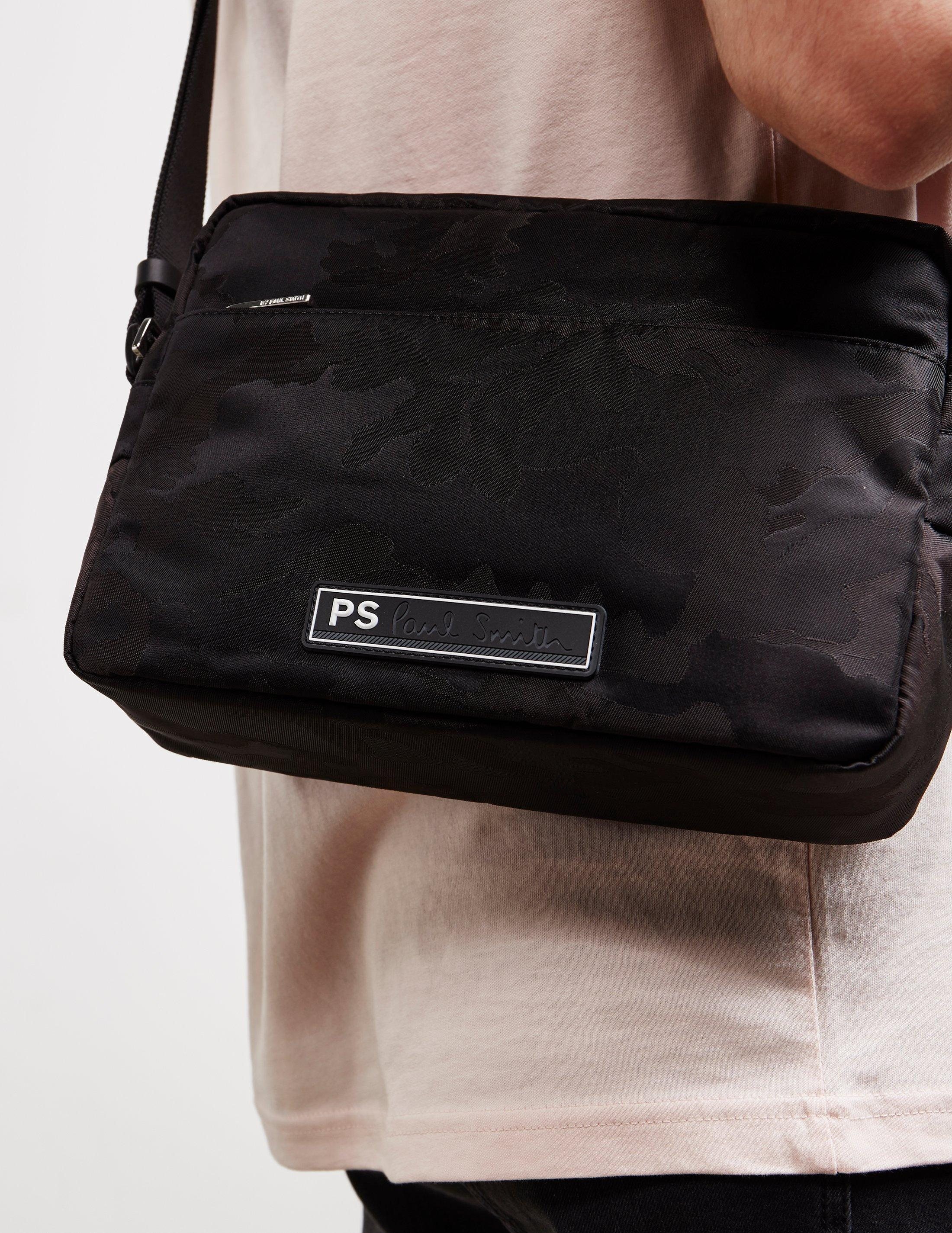 Camo Shoulder Bag Black