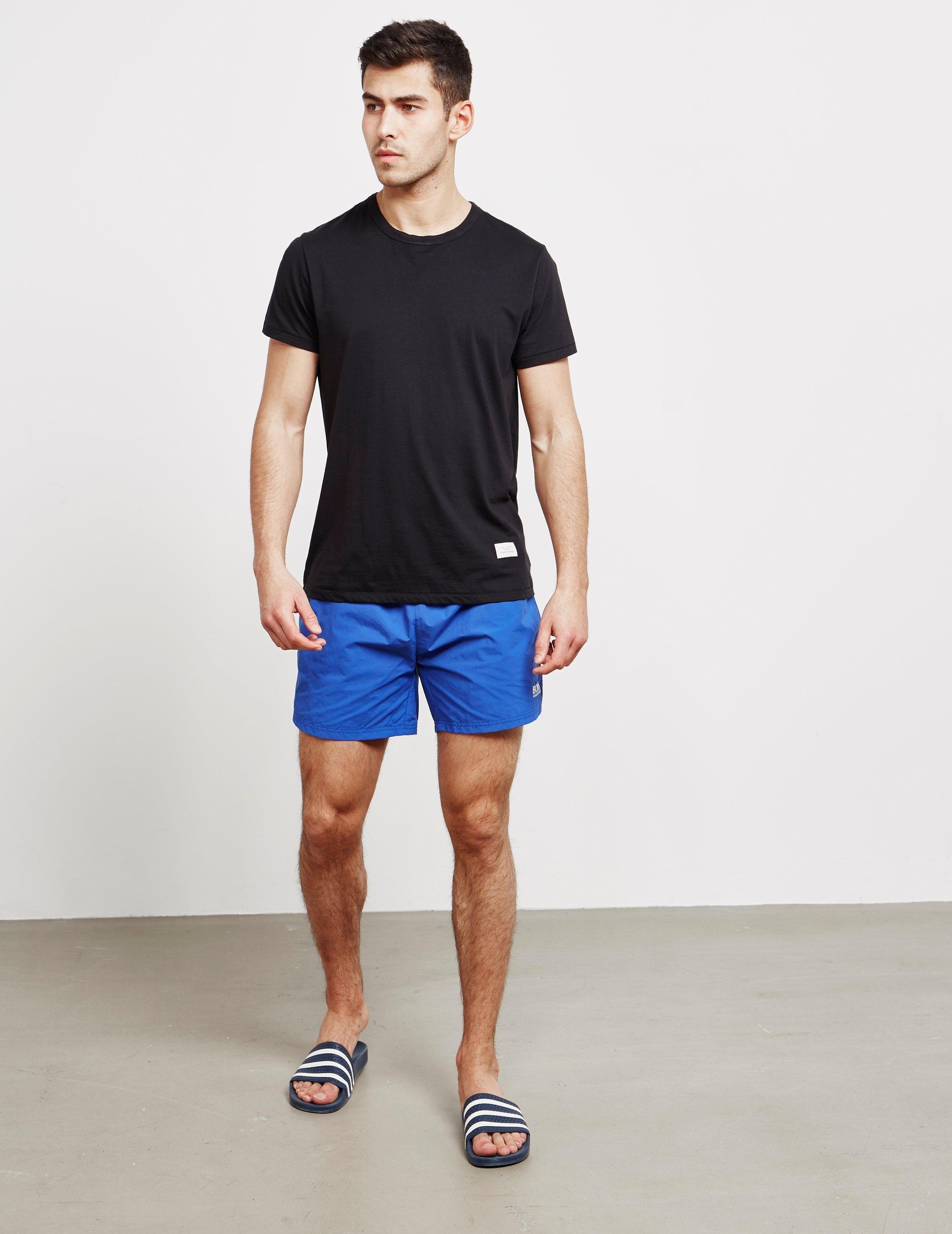 6edcc080b9 BOSS Perch Swim Shorts Blue in Blue for Men - Lyst