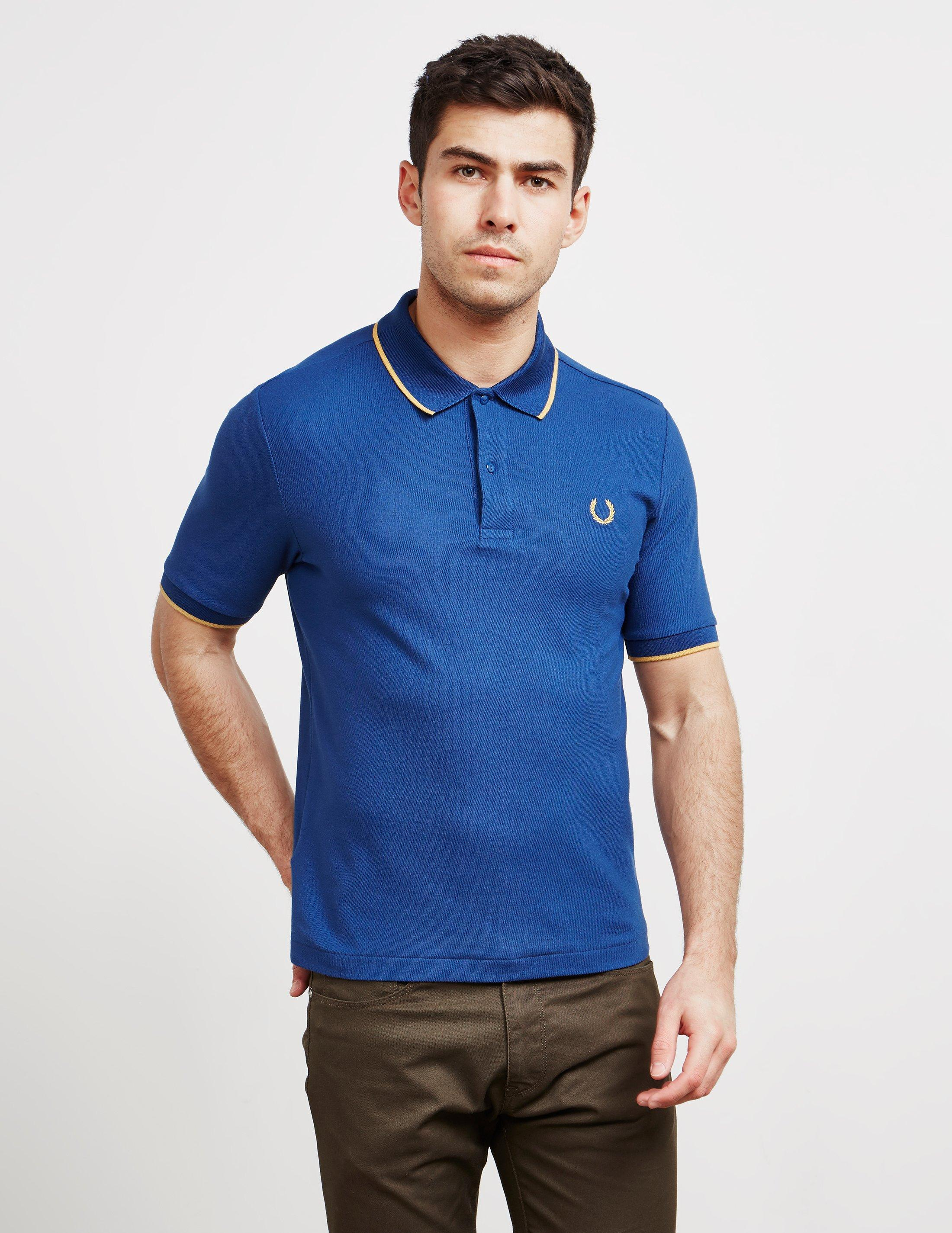 d0d184310fb0 Lyst - Fred Perry Mens X Miles Kane Short Sleeve Pique Polo Shirt ...