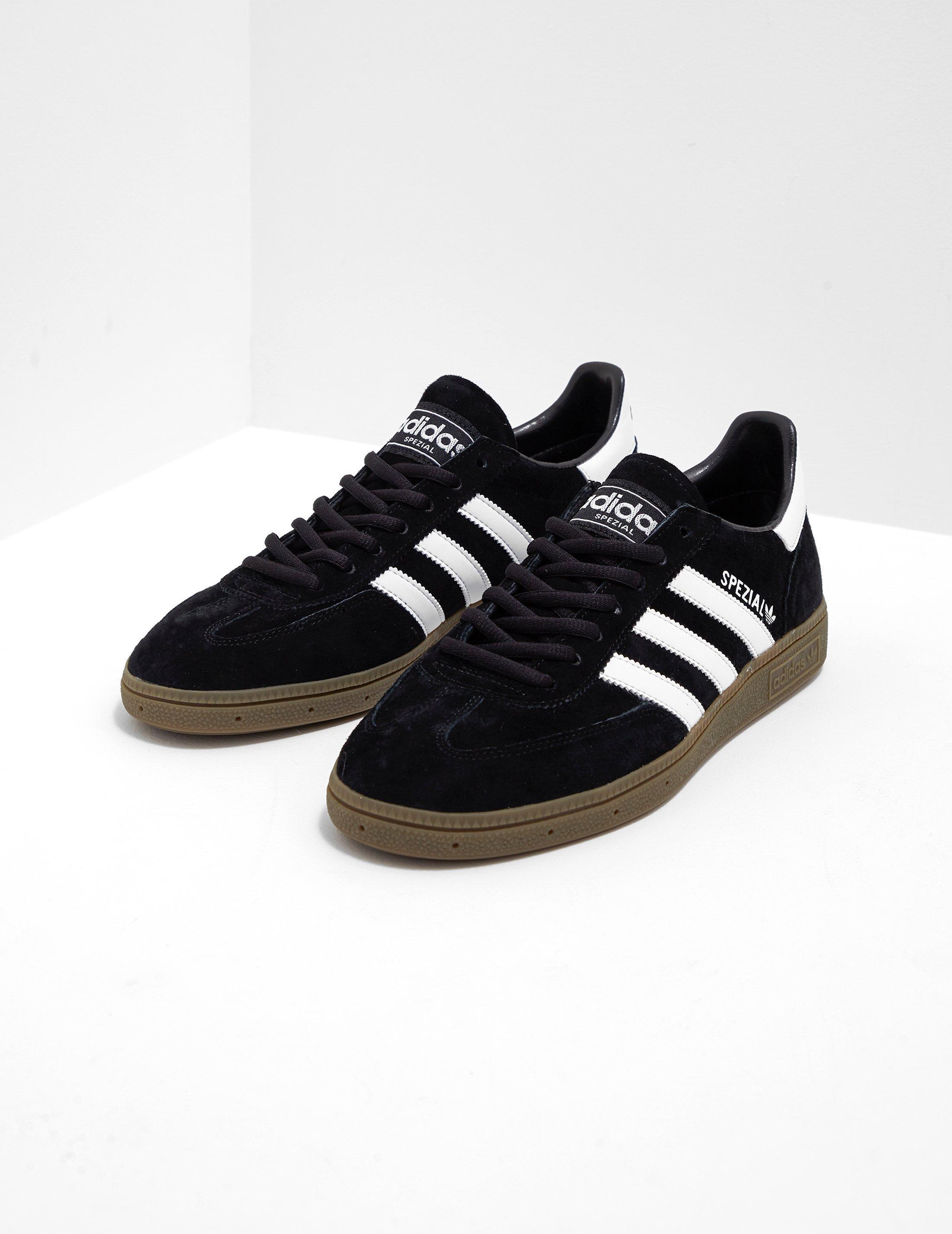 Adidas Originals Mens Spezial Blackwhitegum for men