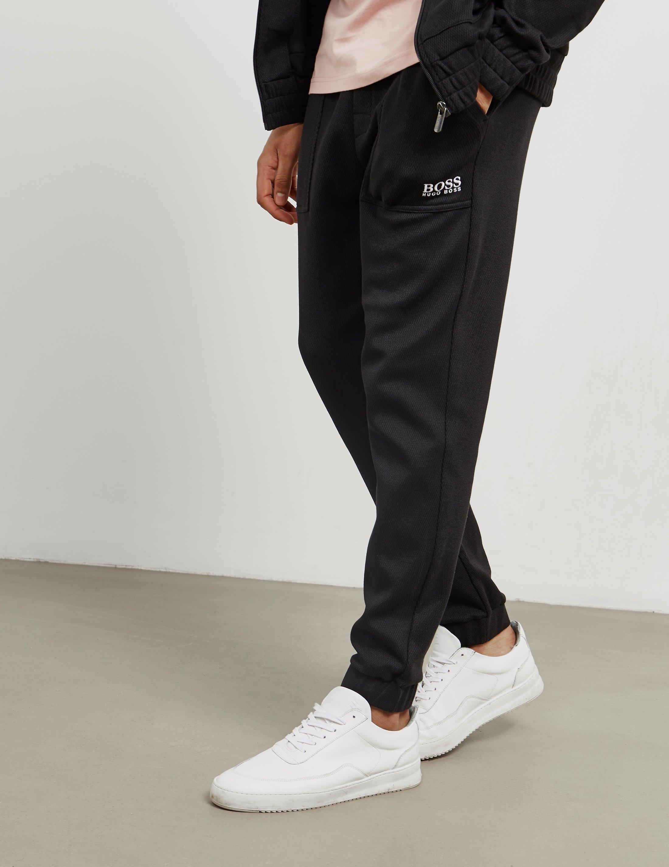 e25b08beabd Lyst - BOSS Mens Contemporary Track Pants Black in Black for Men