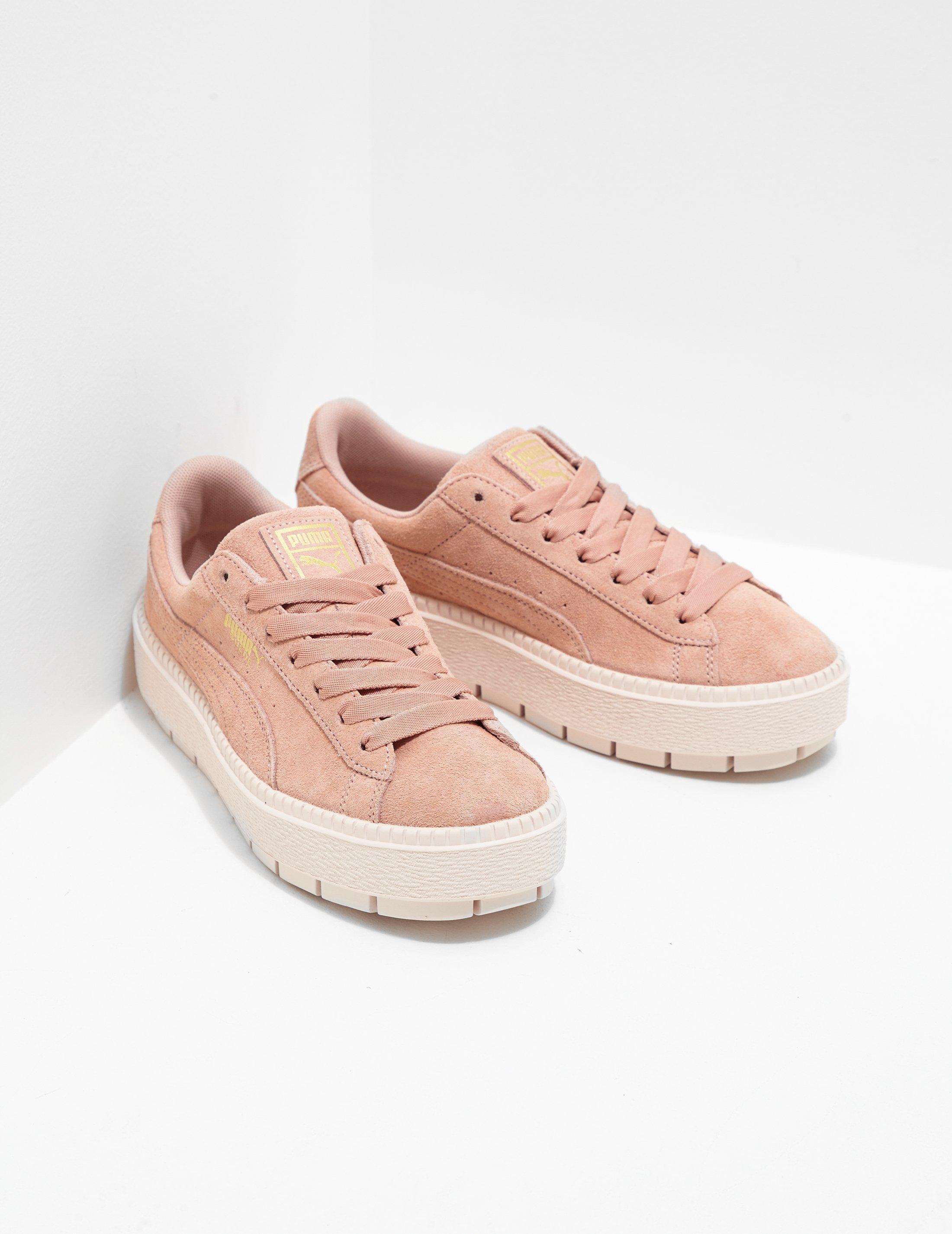 PUMA Suede Platform Trace Women's Pink