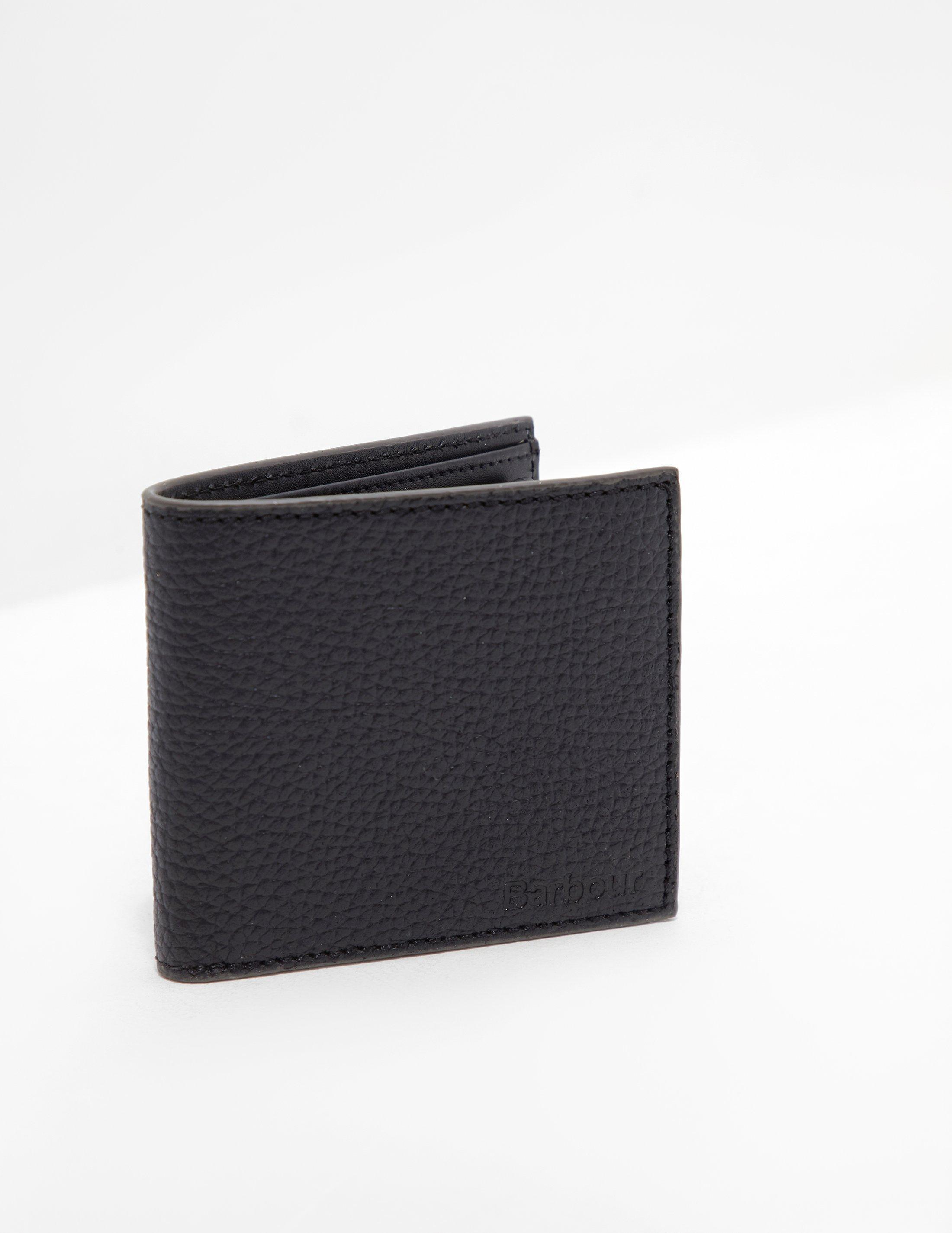 30d24c8f Barbour Mens Grain Leather Wallet - Online Exclusive Black in Black ...