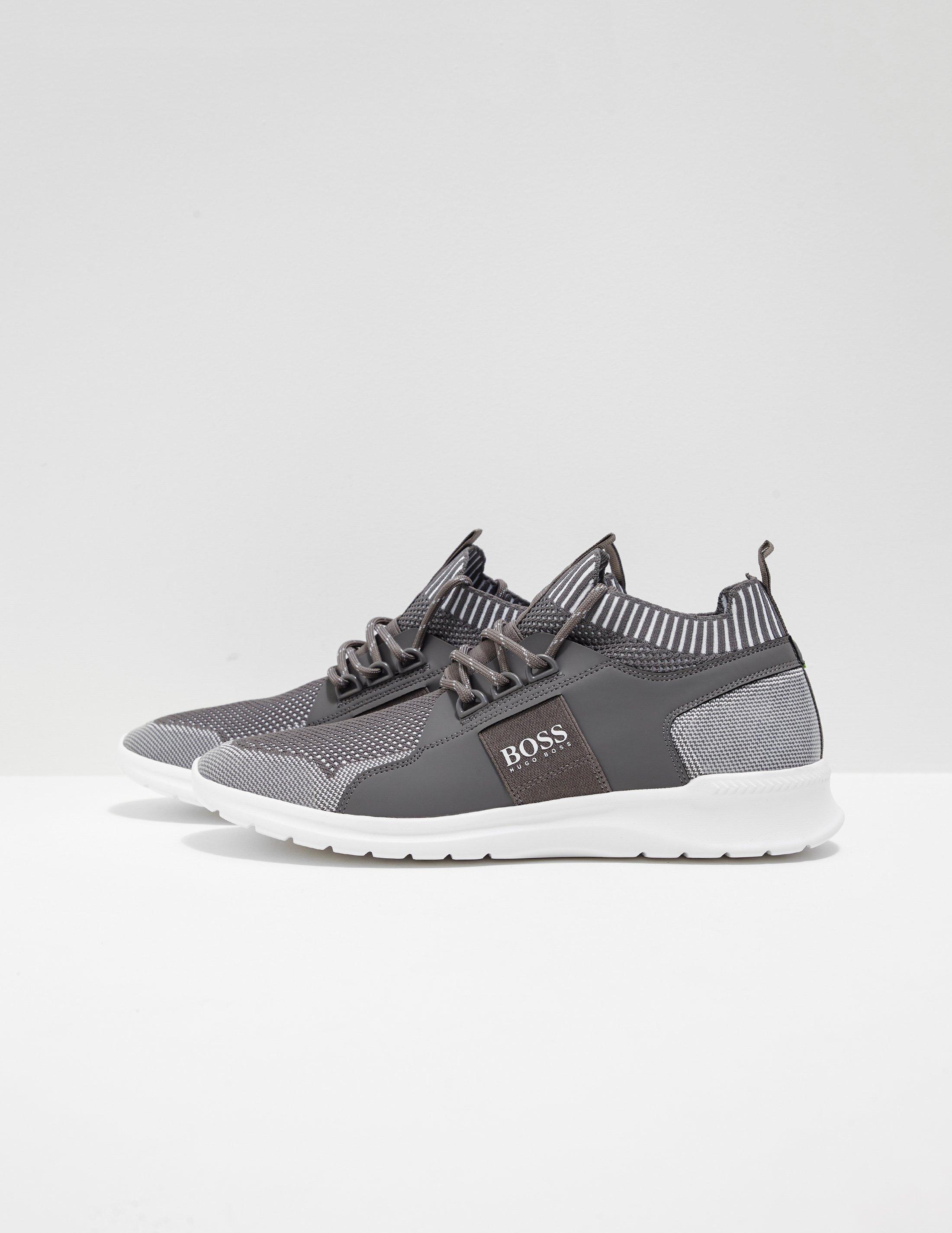 Hugo Boss Lace Extreme Run Knit Grey