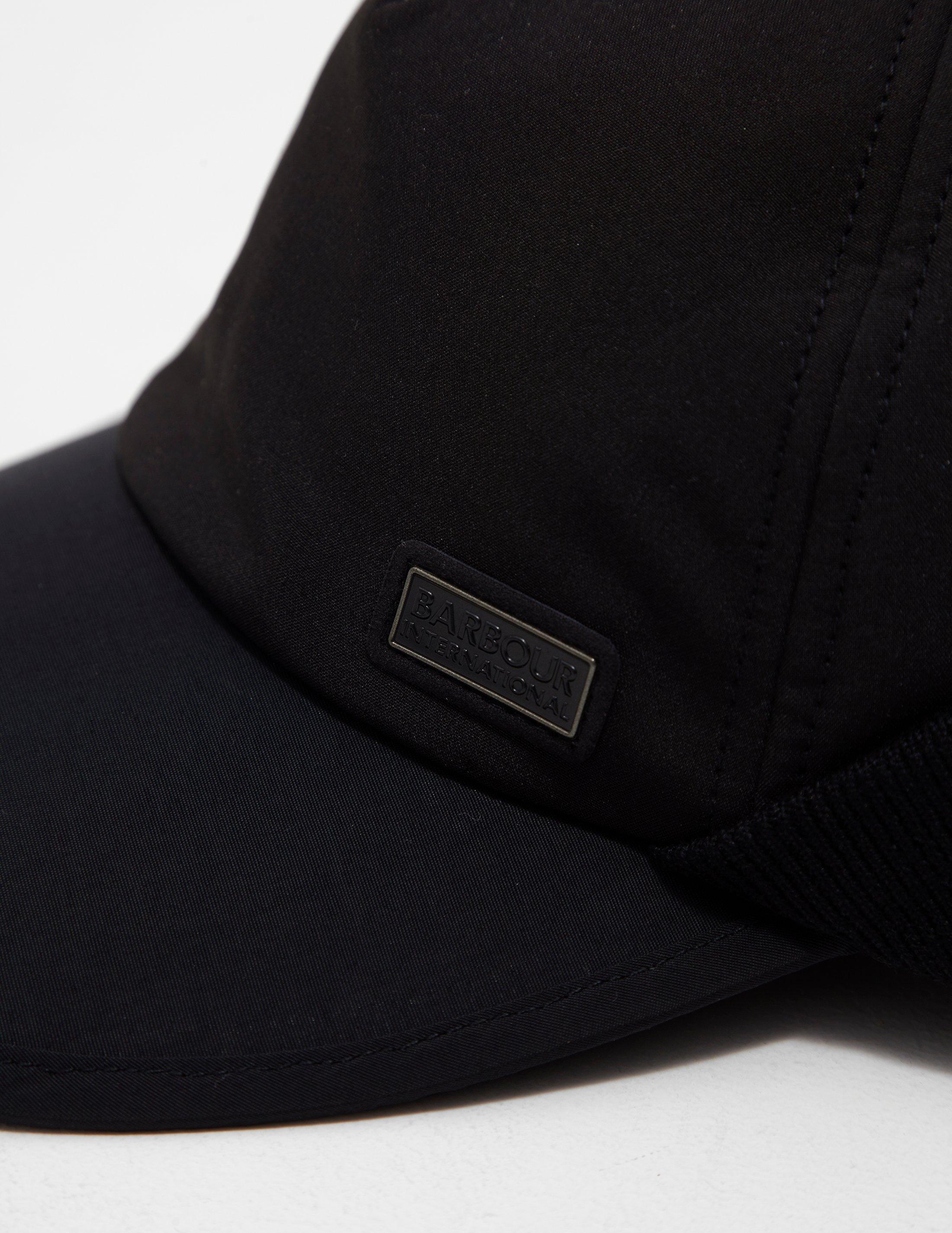 5d8a22af2f649f Lyst - Barbour Delta Cap Black in Black for Men - Save 58%
