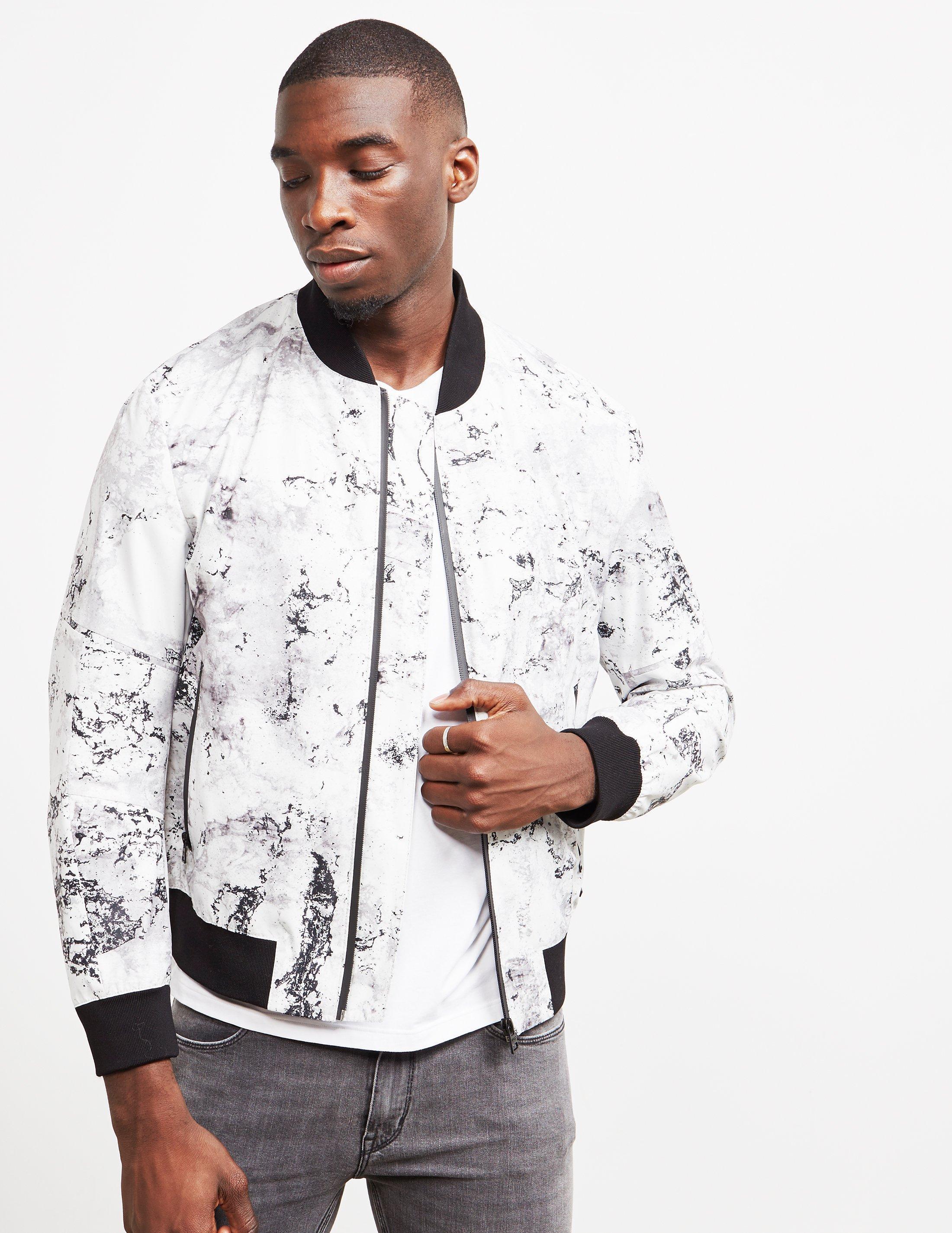 0e9a2b89e HUGO Synthetic Boris Jacket White for Men - Lyst
