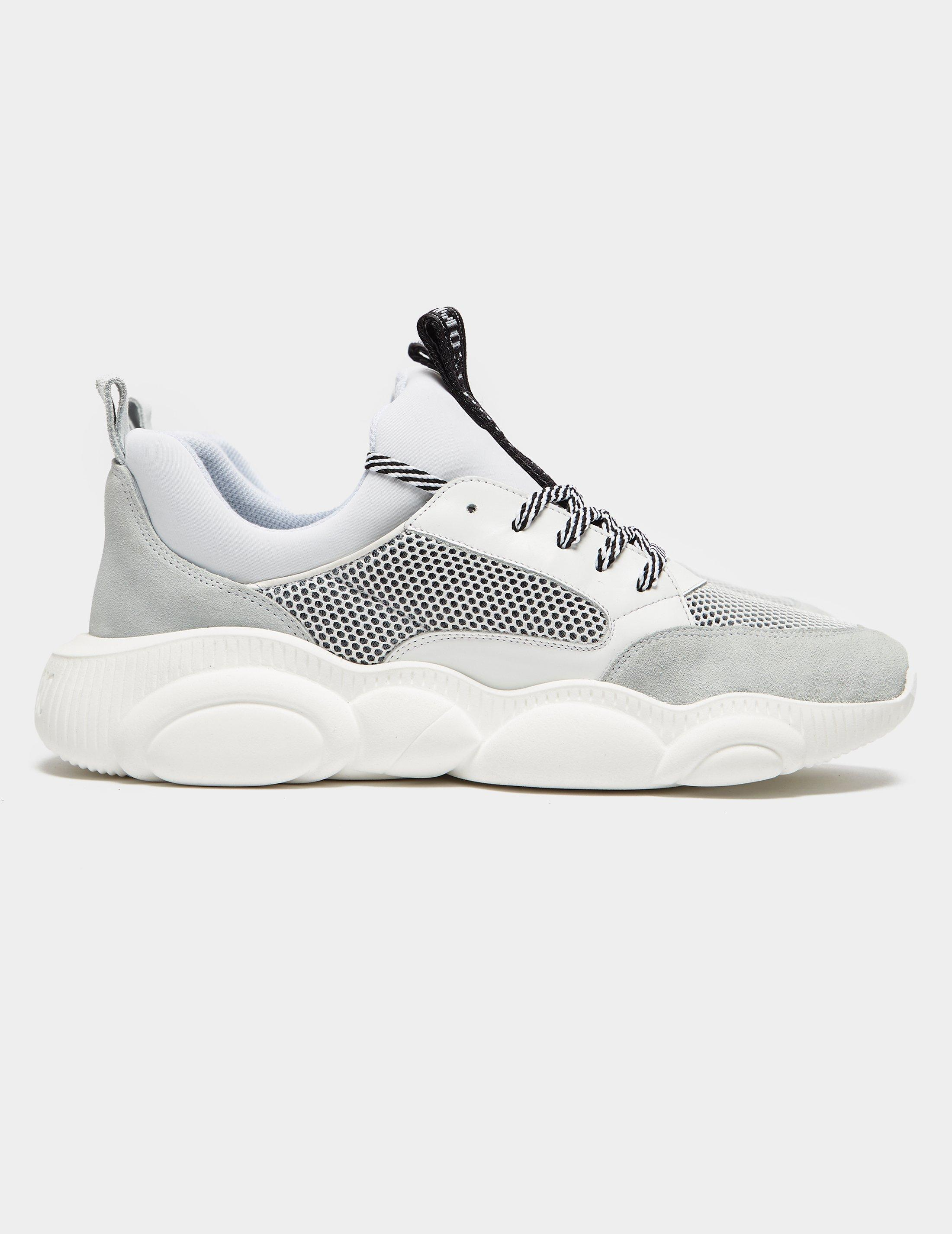 Moschino Leather Mesh Chunky Sneakers
