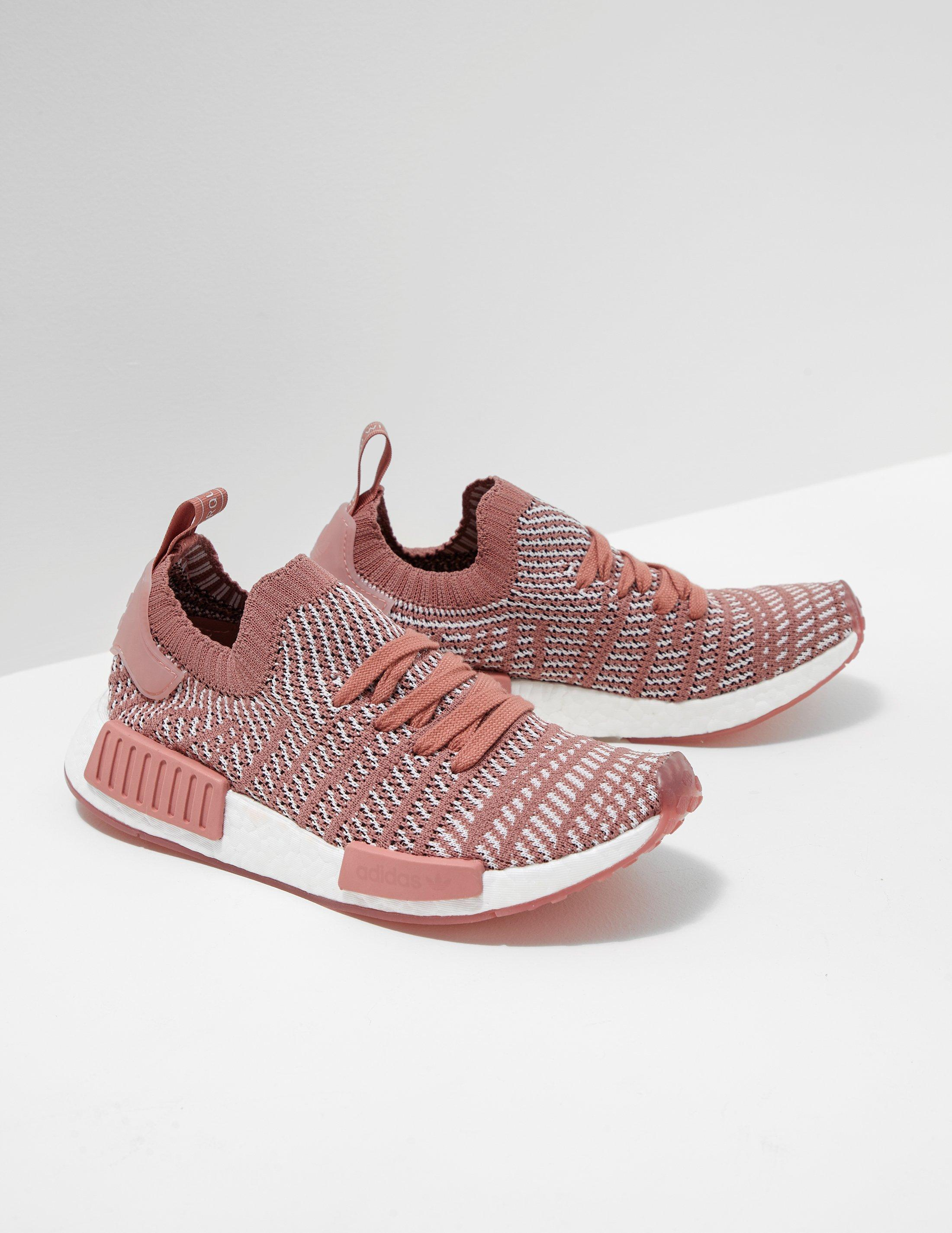 Adidas Originals Womens Nmd R1 Stlt Primeknit Women S Pink In Pink