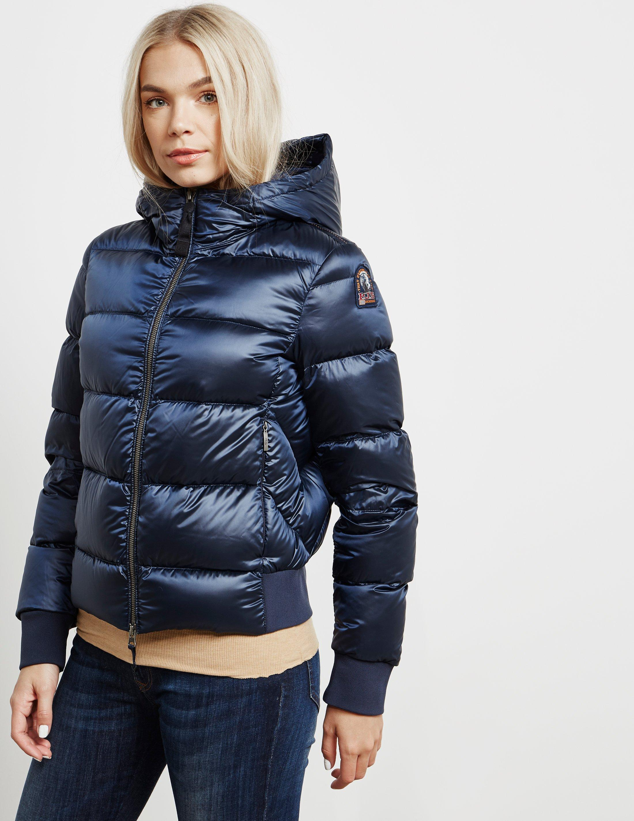 Parajumpers. Womens Mariah Bomber Jacket Blue