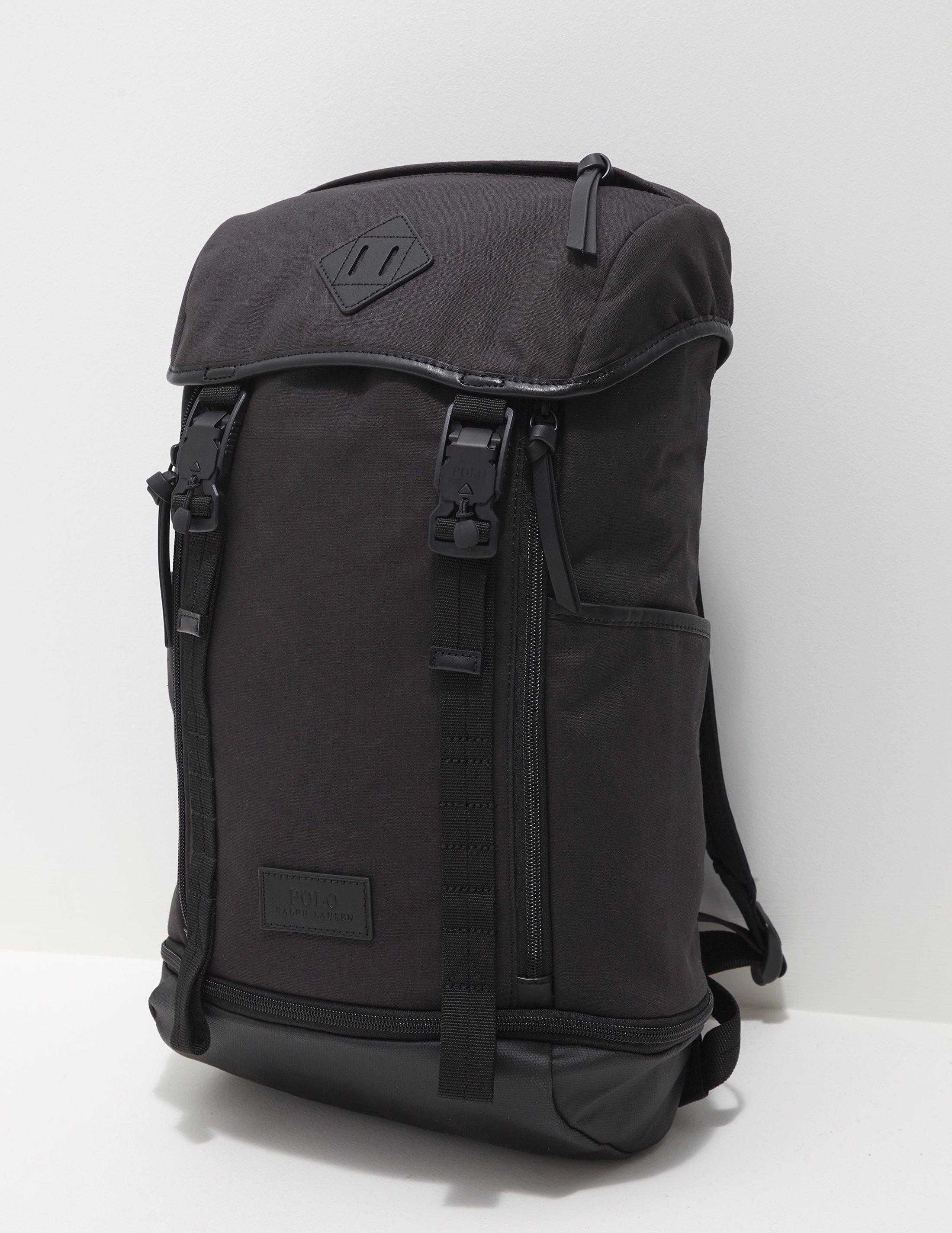 5fdc4543e8 Polo Ralph Lauren Utility Backpack Black in Black for Men - Lyst