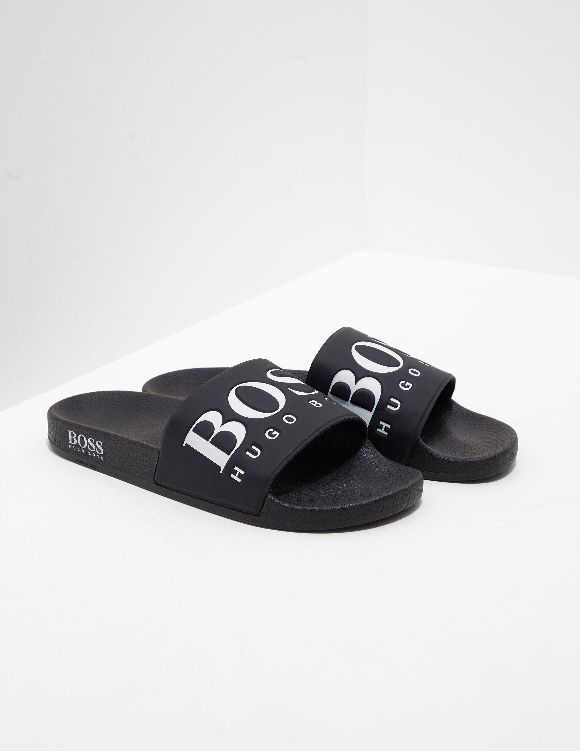 d0f0d7a0d42ae4 ... Solar Slides - Exclusively To Tessuti Black for Men - Lyst. View  fullscreen