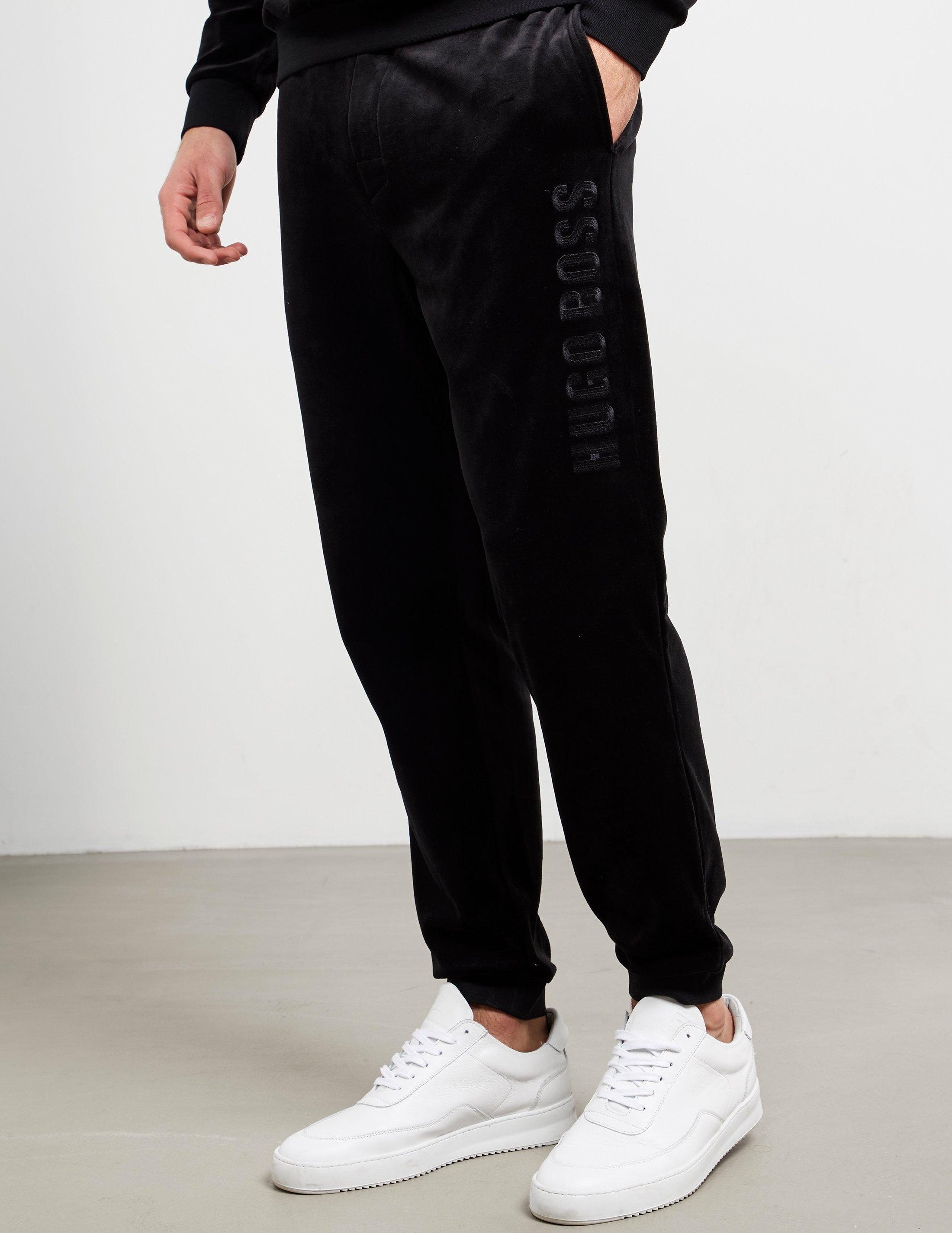 Hugo Boss Men/'s Velour Cuffed Hem Pants