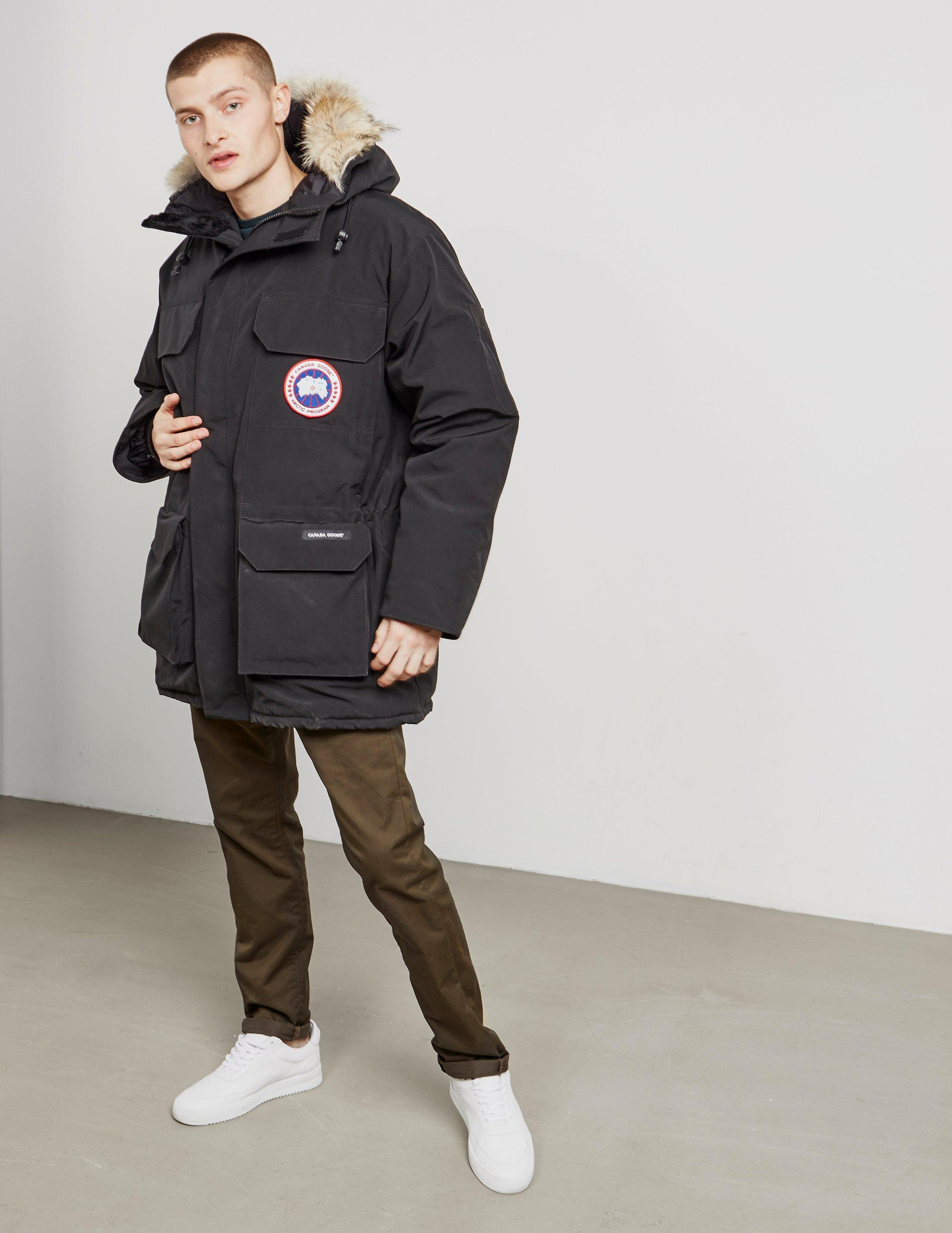 Canada Goose Goose Expedition Padded Parka Jacket Black ...