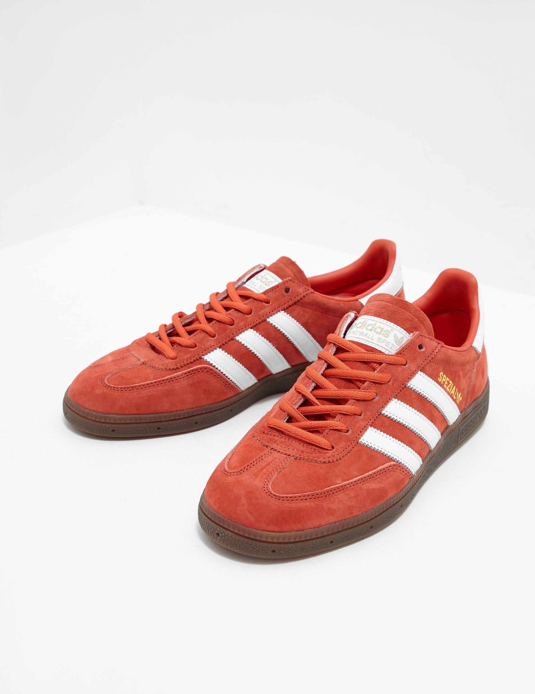 54a5cd240cd0 Adidas Originals Mens Handball Spezial Orange in Orange for Men - Lyst