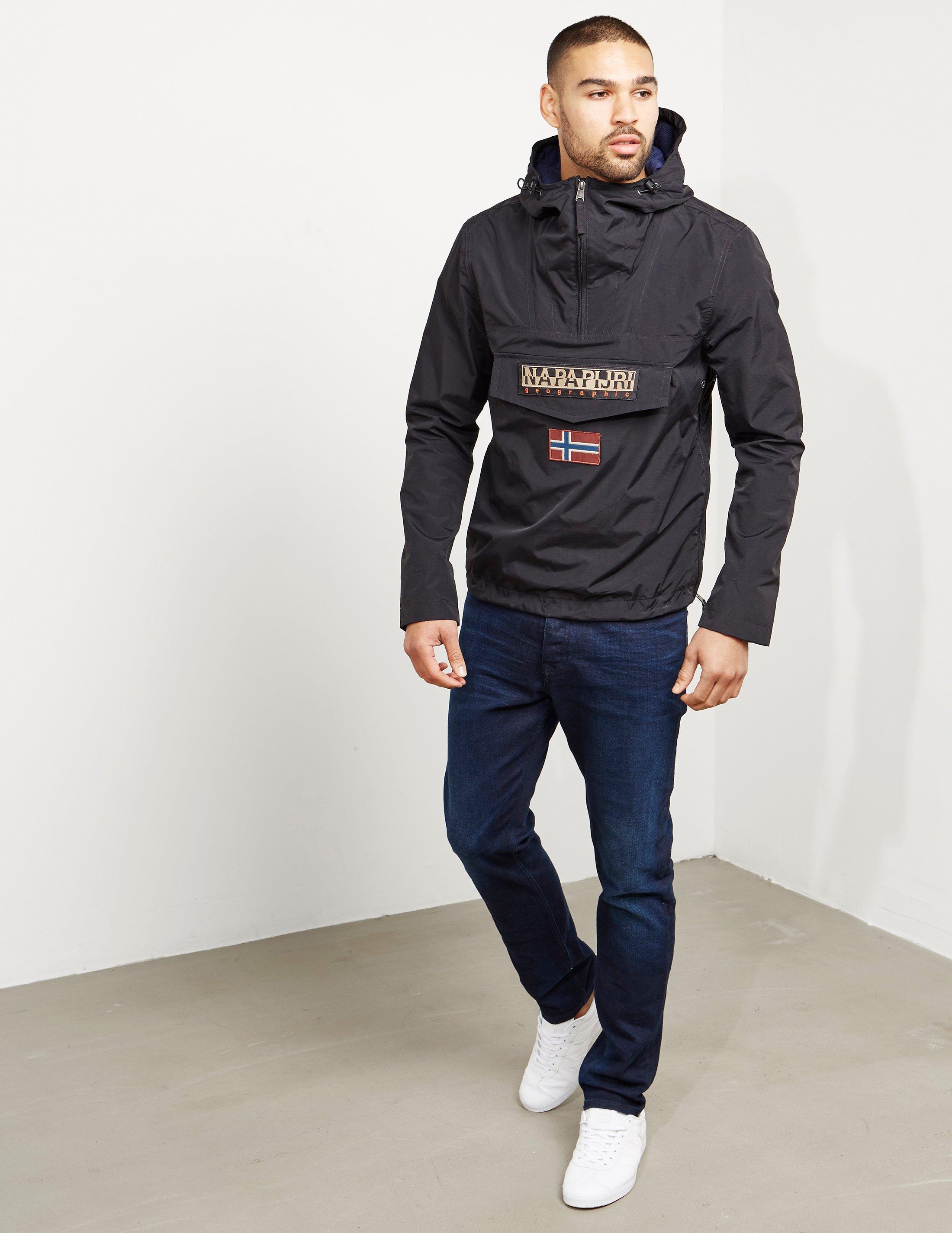Lyst - Napapijri Rainforest Lightweight Jacket in Black for Men ac4d13cbeff