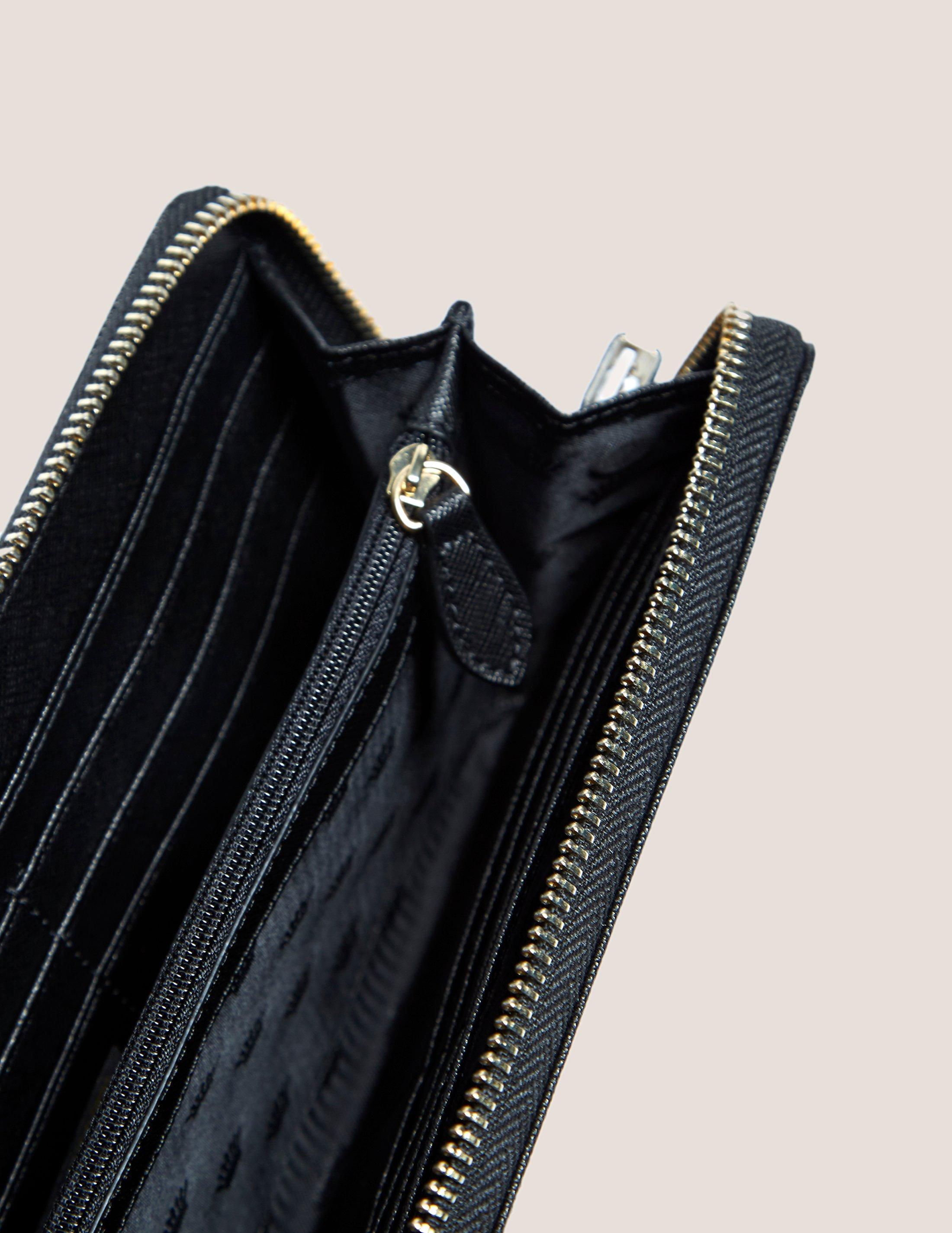 526s Travel Wallet Purse Neck Pouch Passport Holder Small Messenger Bag Silver