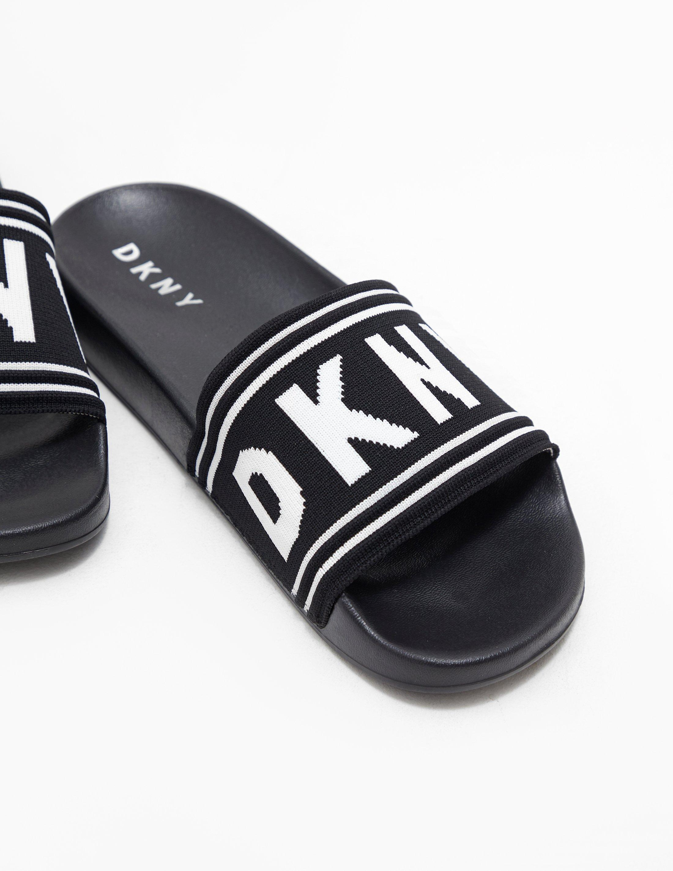 DKNY Sandals in Black - Lyst