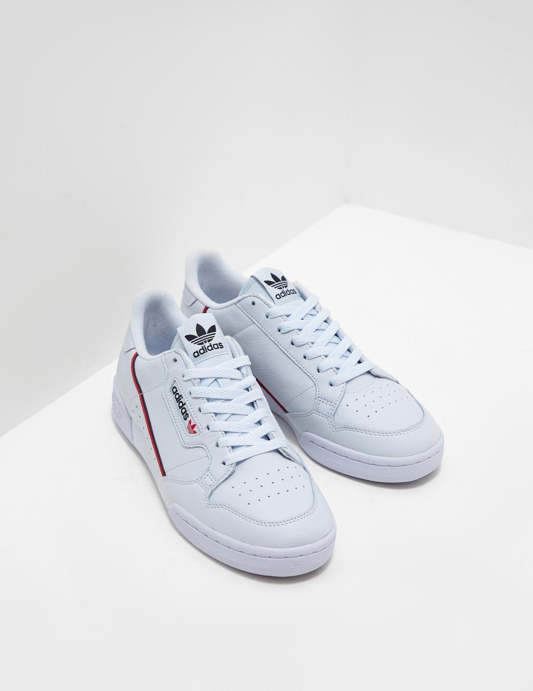 adidas Originals Continental 80 Blue in Blue for Men - Lyst 9d1b9d18b
