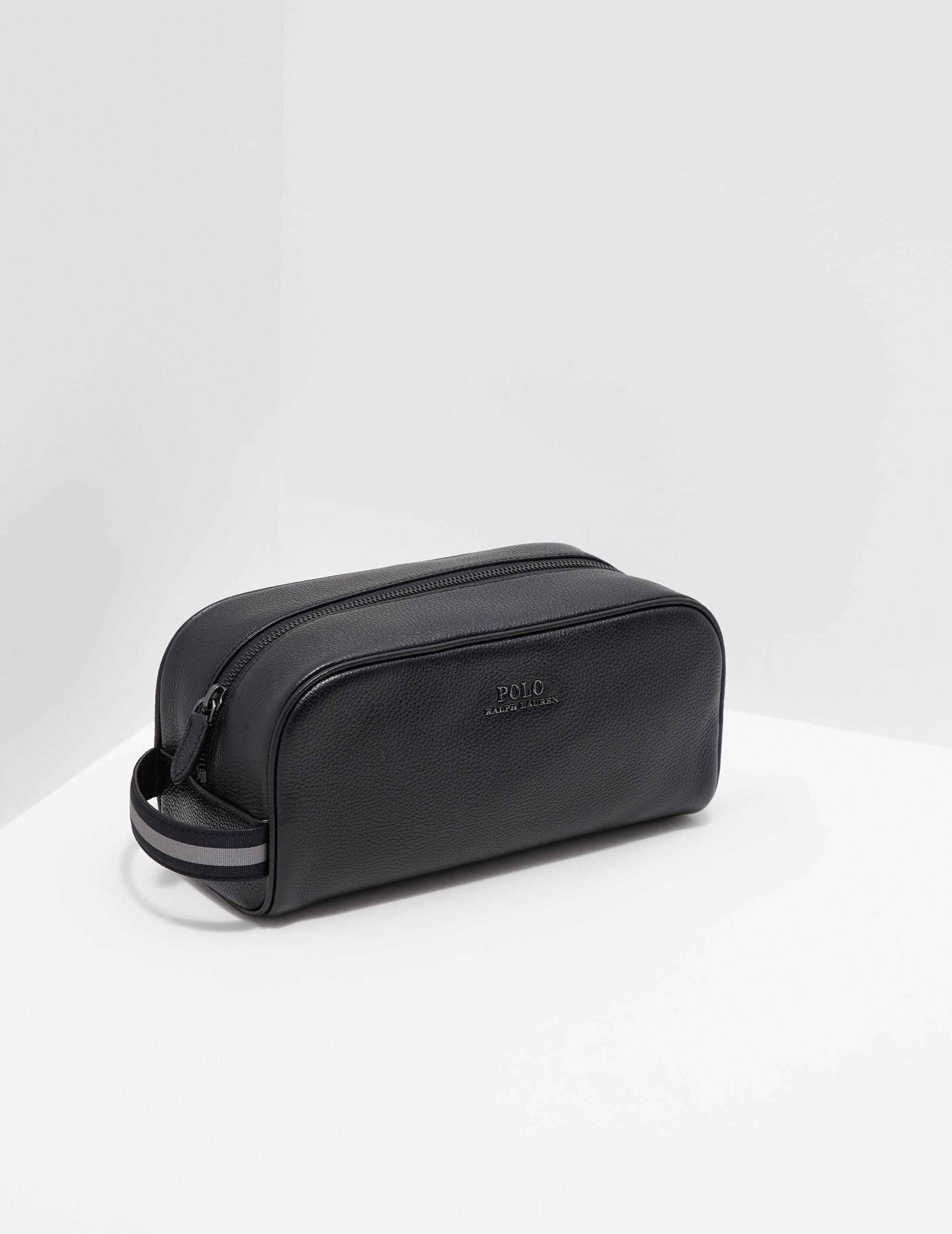Polo Ralph Lauren Mens Wash Bag - Online Exclusive Black in Black ... cf443fbc65