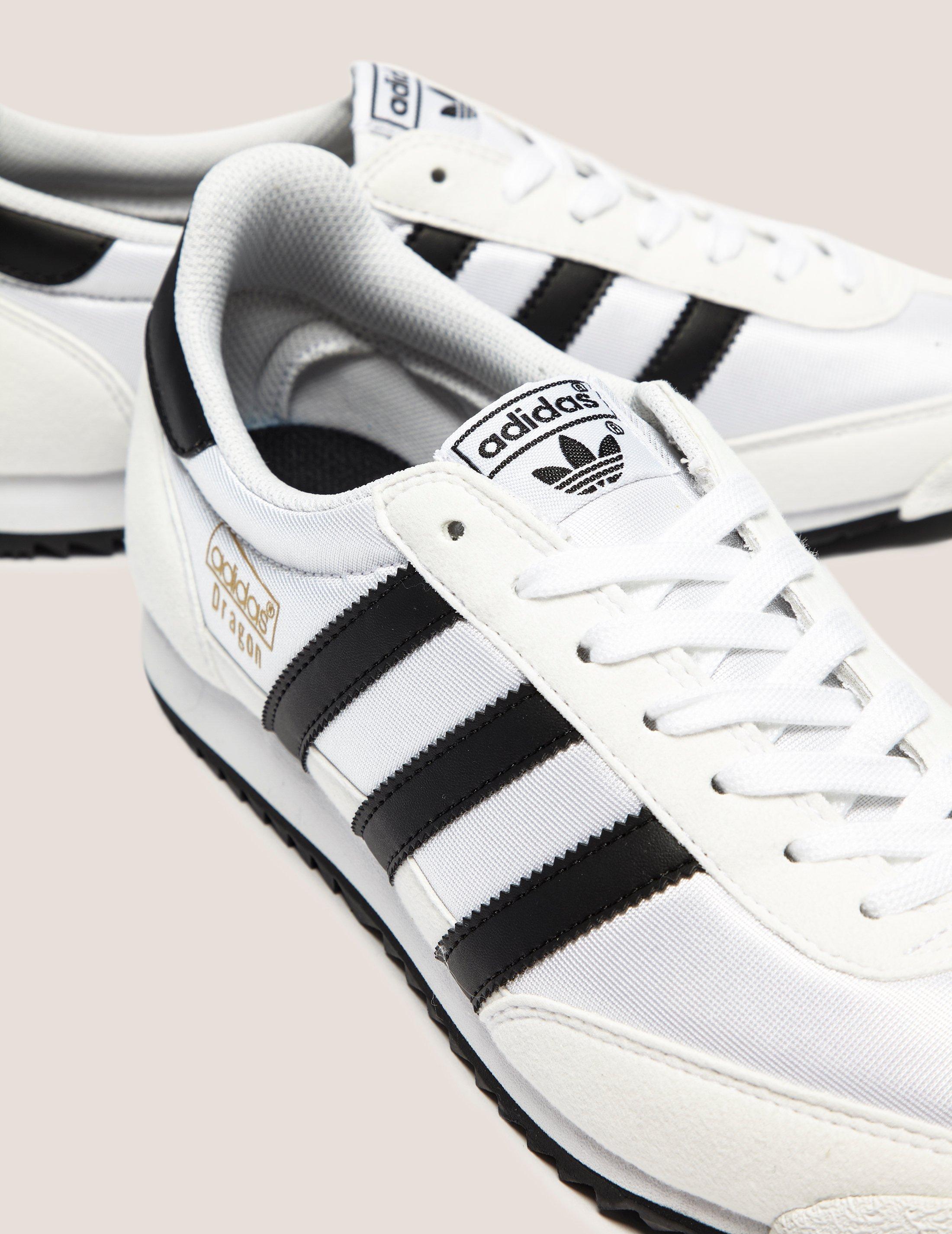 adidas dragon vintage white