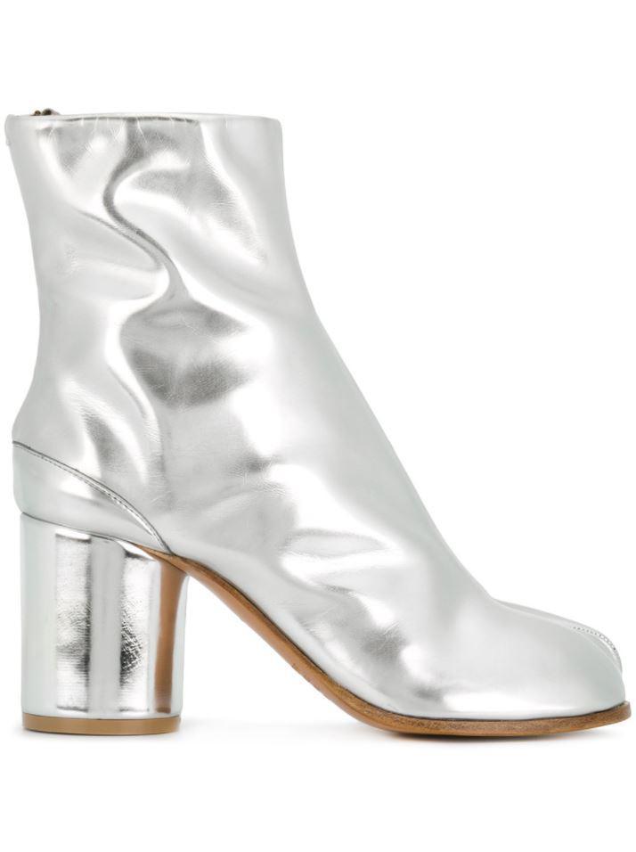 clearance amazing price cheap websites Maison Margiela laminated Tabi boots cheap USA stockist sale lowest price fGWsa2k