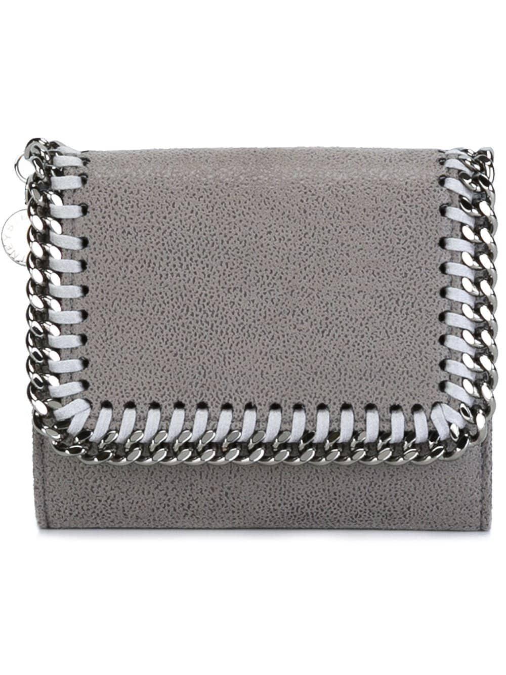 Stella Mccartney Mini Portafoglio `falabella` in Gray - Lyst 29755d30784