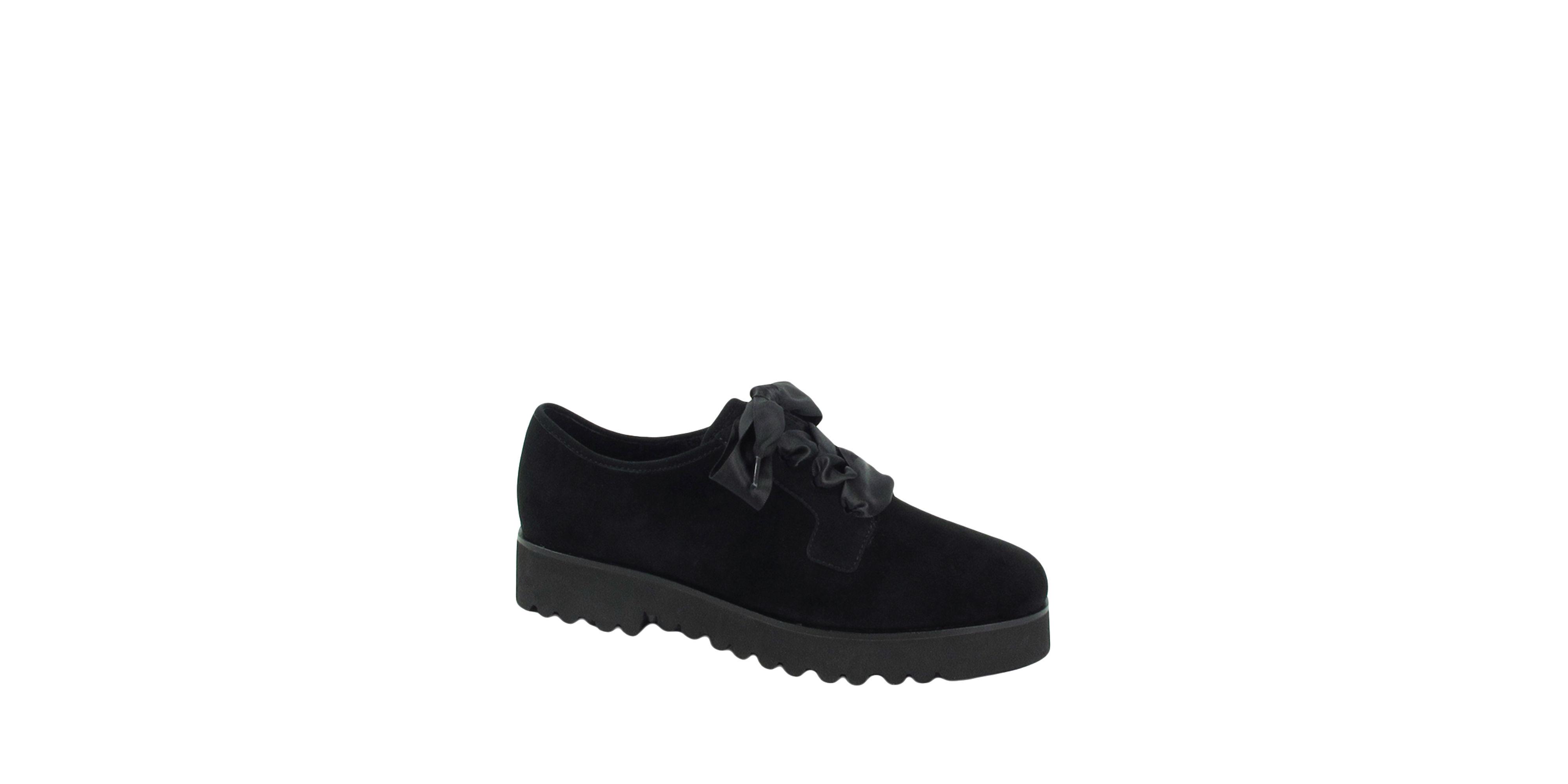 Ron White Sofi Cozy Oxford Shoes In Black Lyst