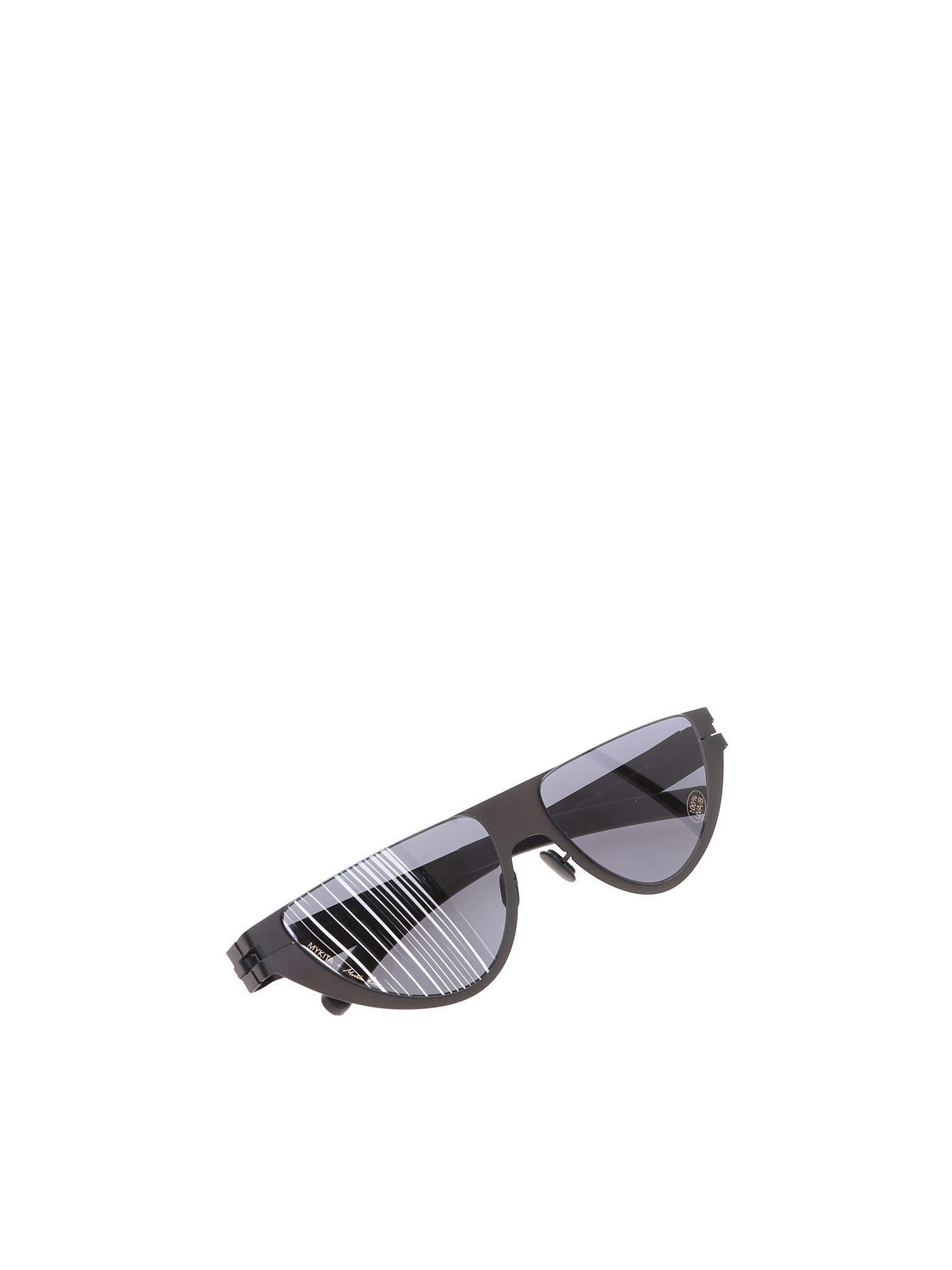 33ef30474e5c Mykita Black Kitt Martin Glasses in Black - Lyst