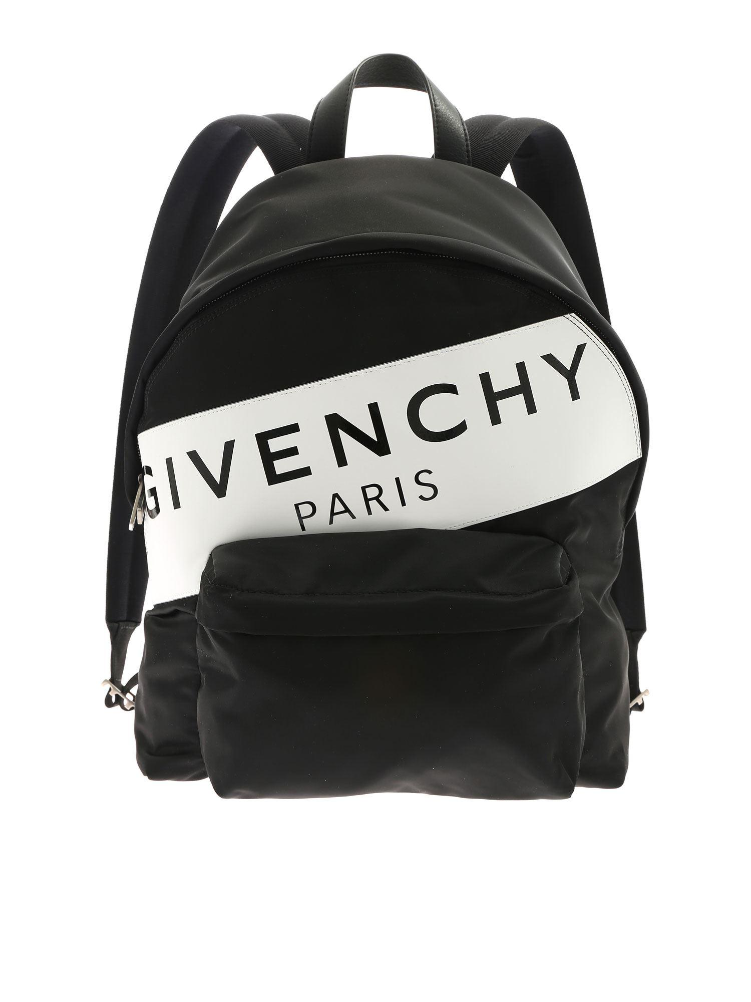 1a701bb6f2 Givenchy Urban Backpack With White And Black Print in White for Men ...