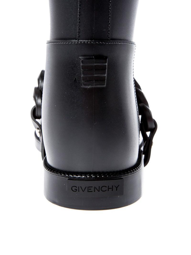 Givenchy Eva Rain Boot in Black