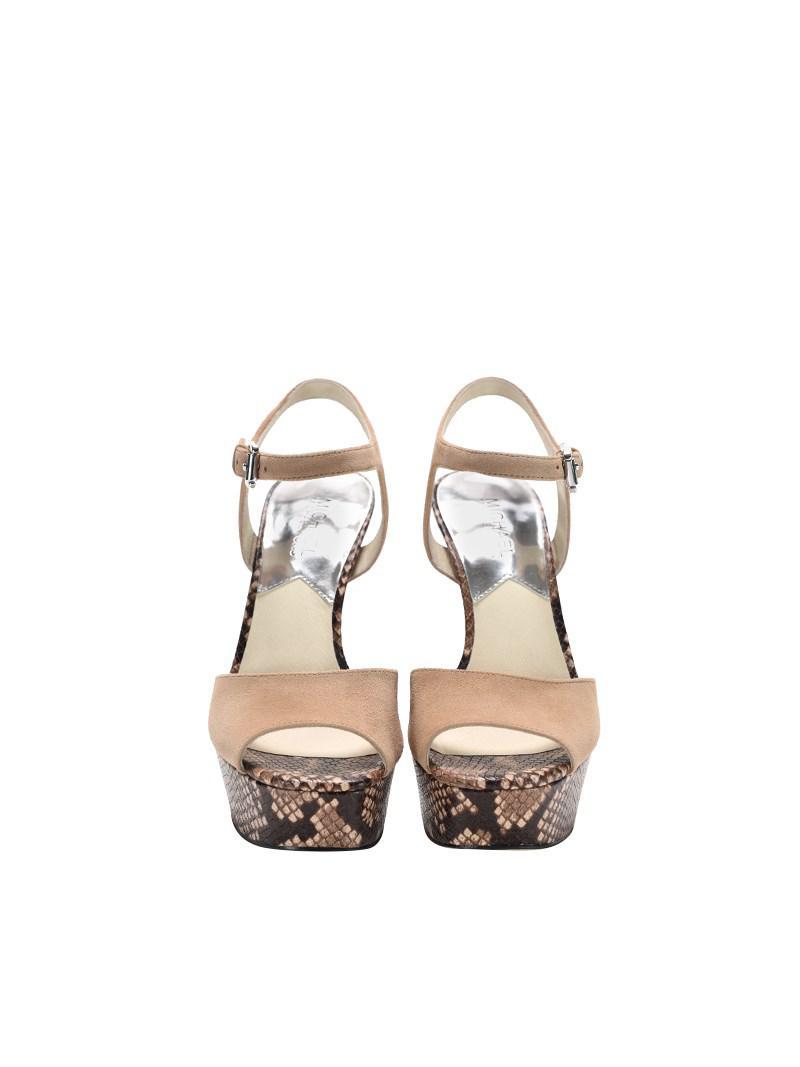 d6d28daa069c Lyst - Michael Kors Trish Sandals