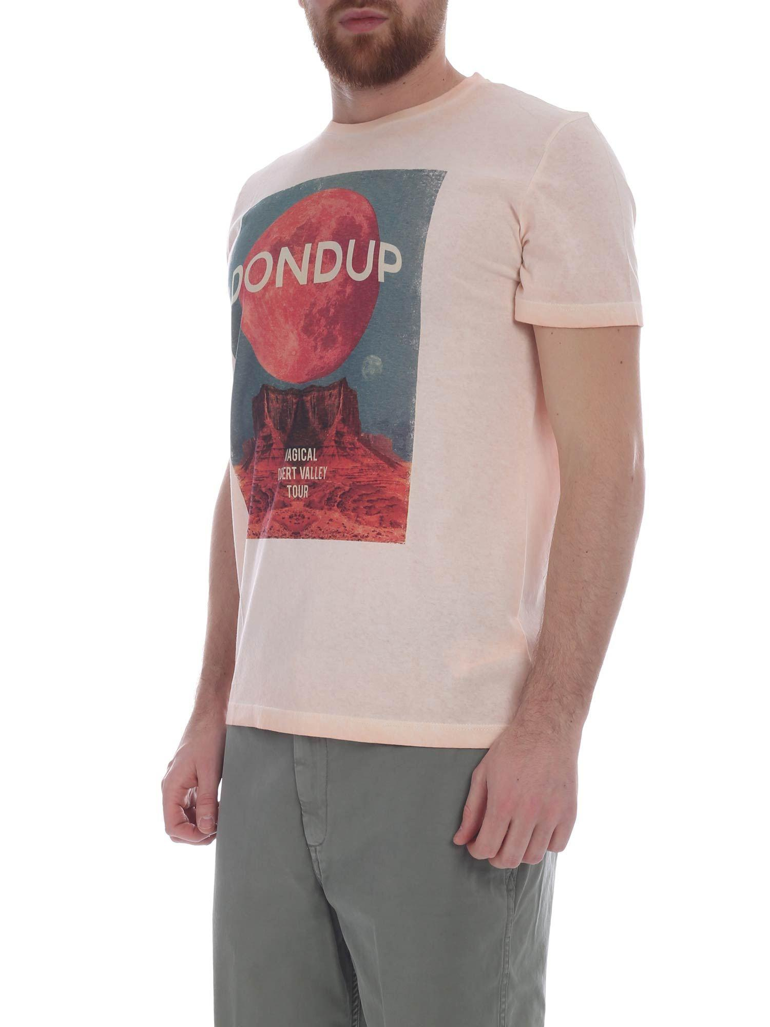 766817a3d Lyst - Dondup Pink Magical Desert Valley Tour T-shirt in Pink for Men -  Save 1%