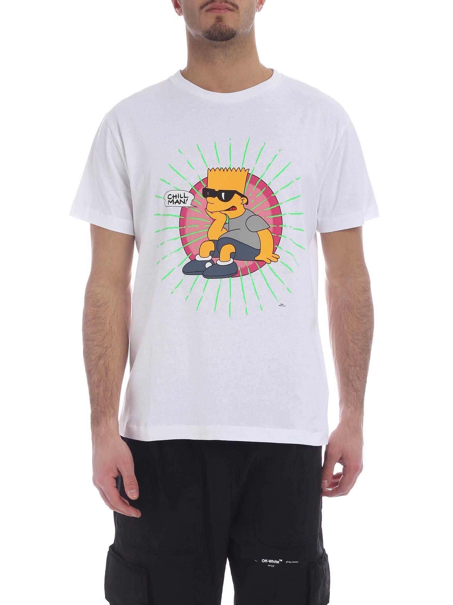 1dfae13b32c2 Off-White c o Virgil Abloh Bart Glasses T-shirt in White for Men - Lyst