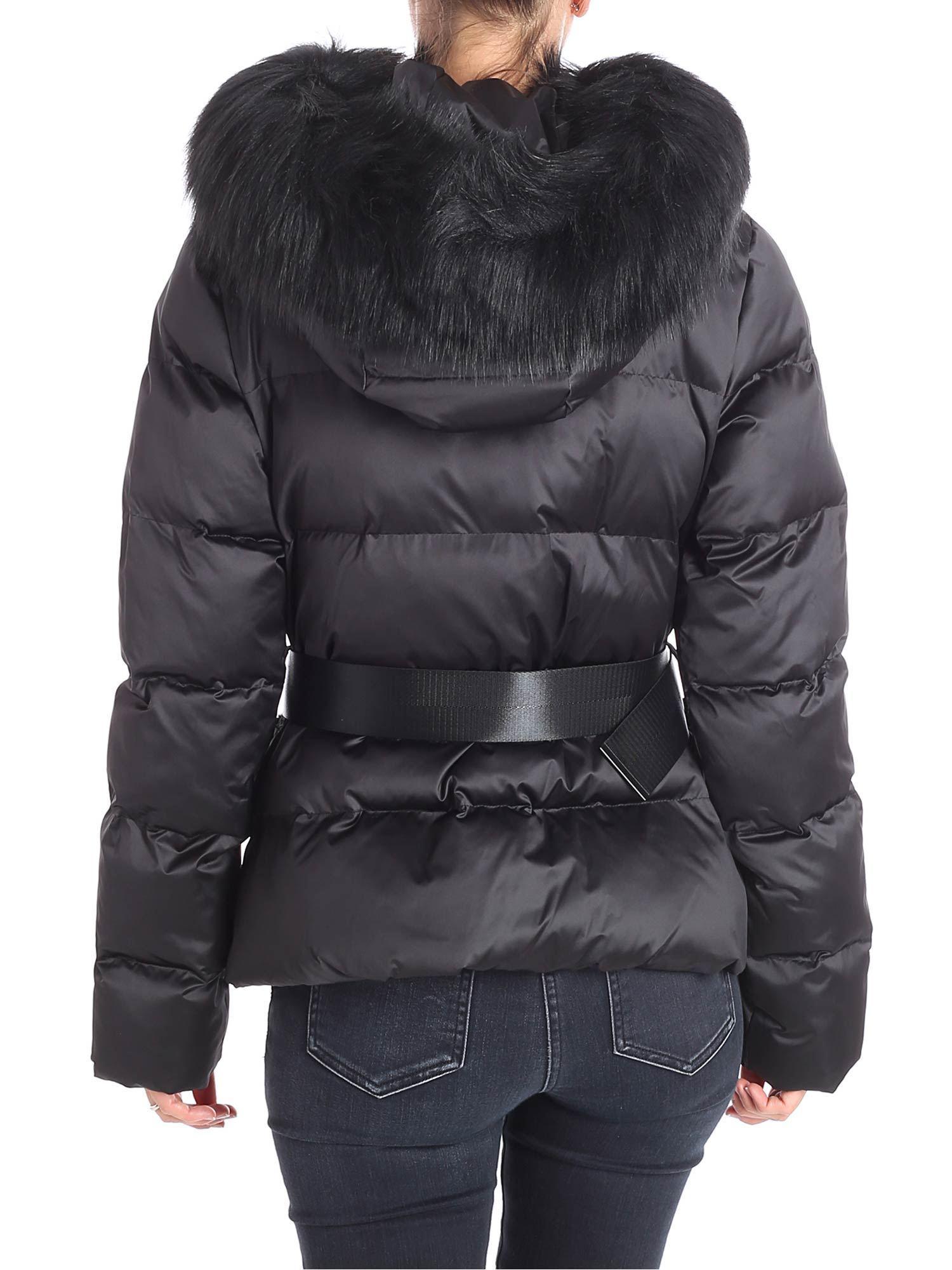abe53dda51 Pinko Giradischi Quilted Black Jacket in Black - Lyst