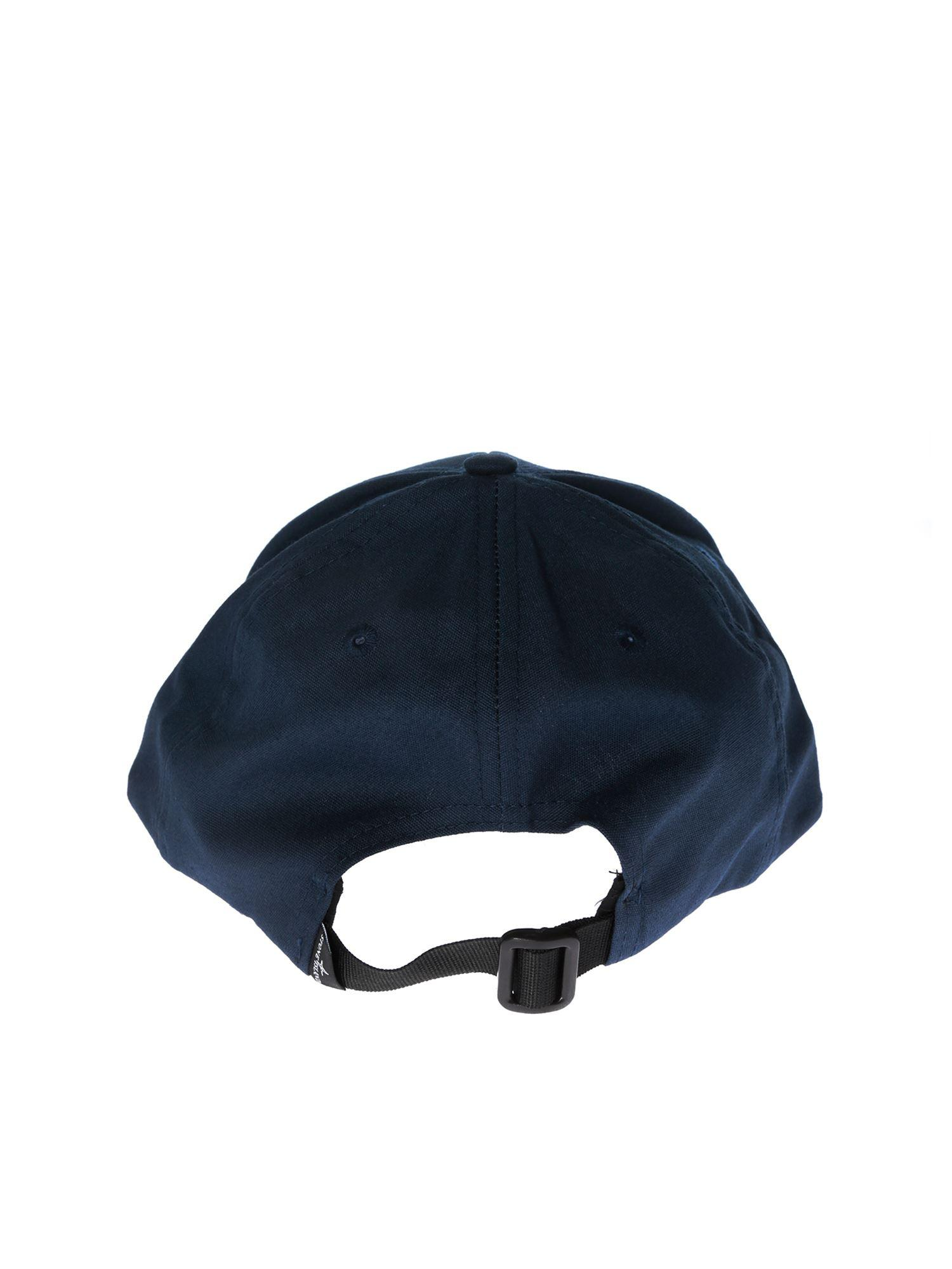 5bf6c85905e Stone Island Blue Baseball Hat With Logo in Blue for Men - Lyst