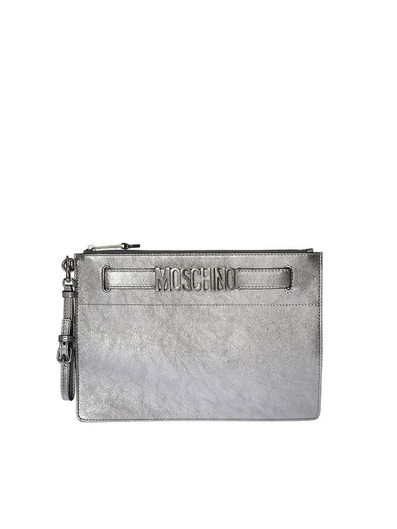 Laminated clutch Moschino XxvCq