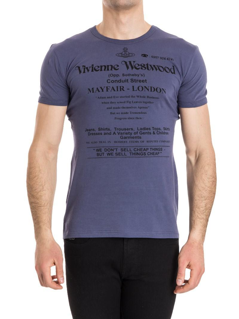 1ddc432a59 Vivienne Westwood Anglomania We Do Not Sell Cheap Things T-shirt in ...