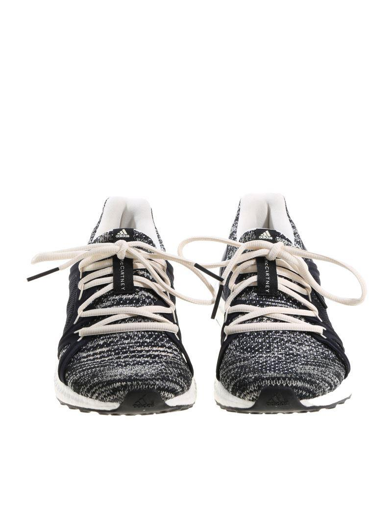 1dd2c2443 Adidas By Stella McCartney - White And Black Ultraboost Parley Sneakers -  Lyst. View fullscreen