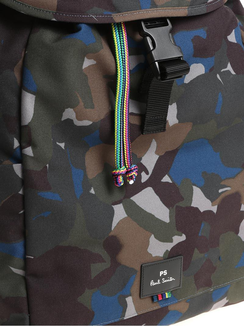 PS by Paul Smith Synthetic Camouflage Backpack