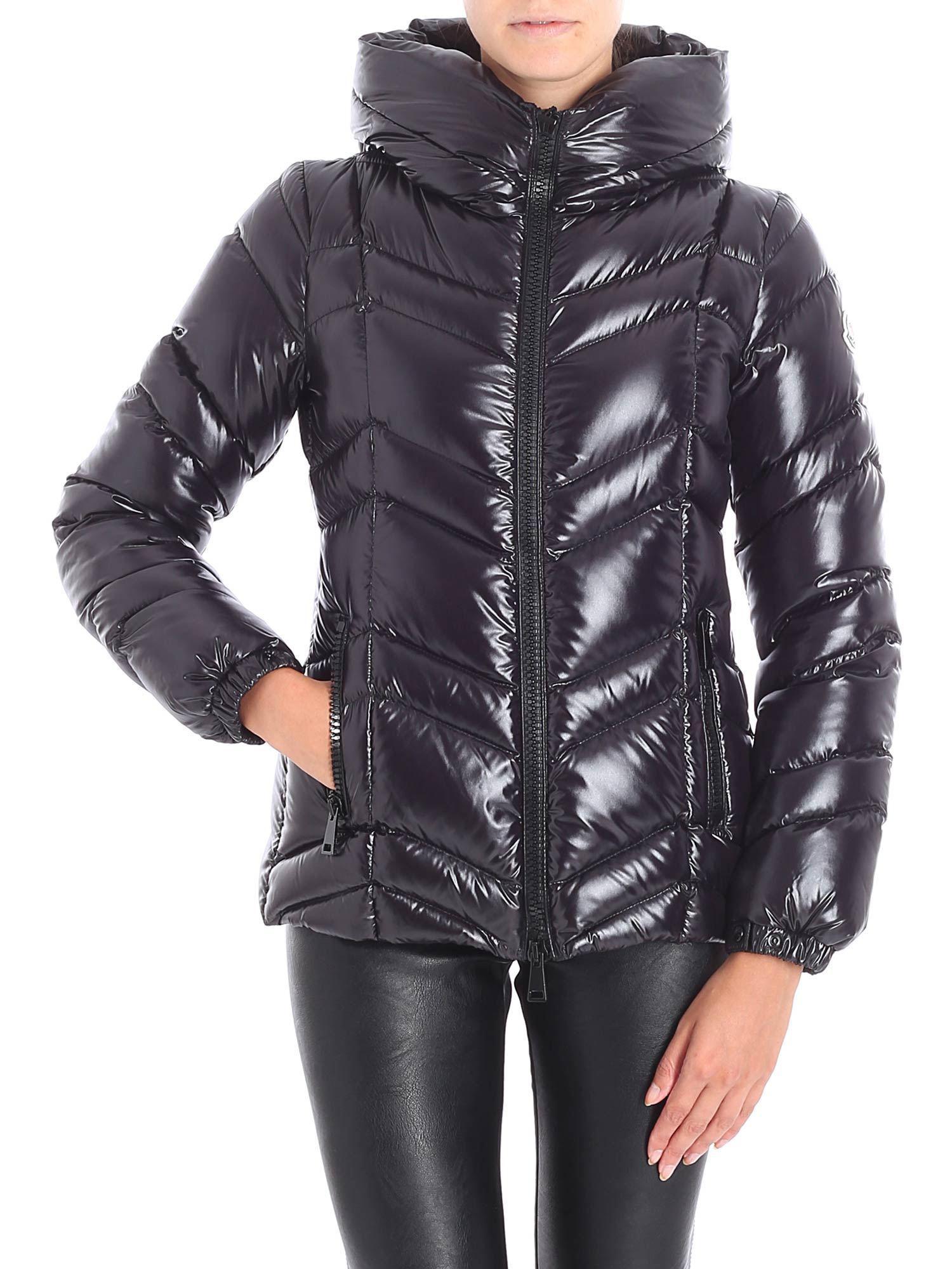 7b62d223b Moncler Fuligule Black Hooded Down Jacket