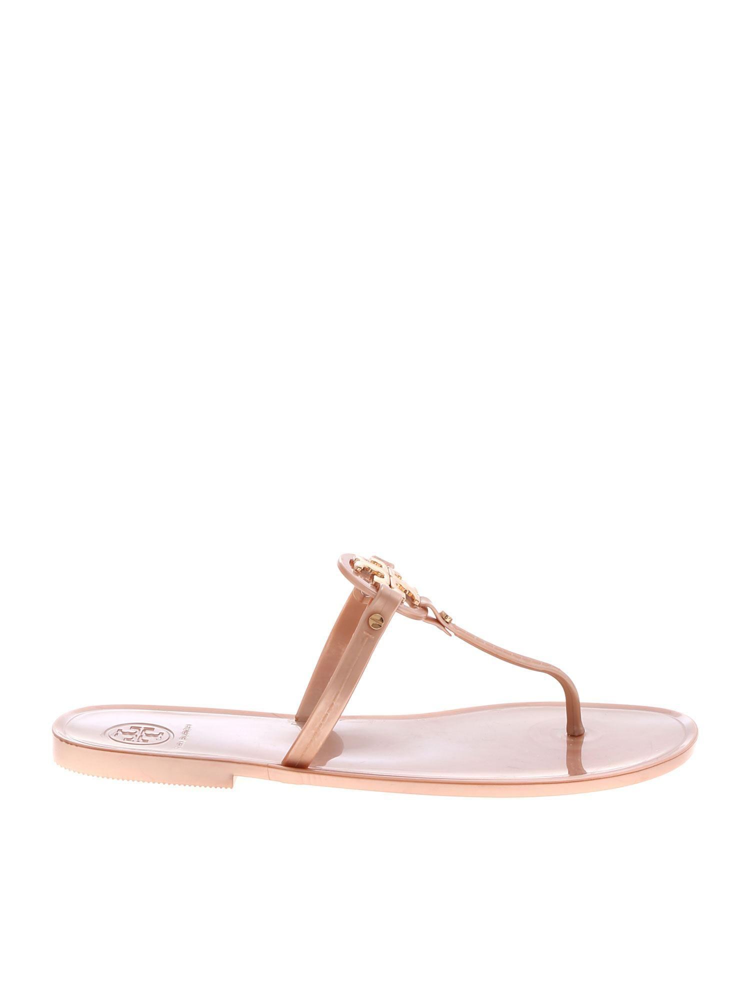 4bb4143531df Lyst - Tory Burch Mini Miller Thong Sandals In Pink in Pink