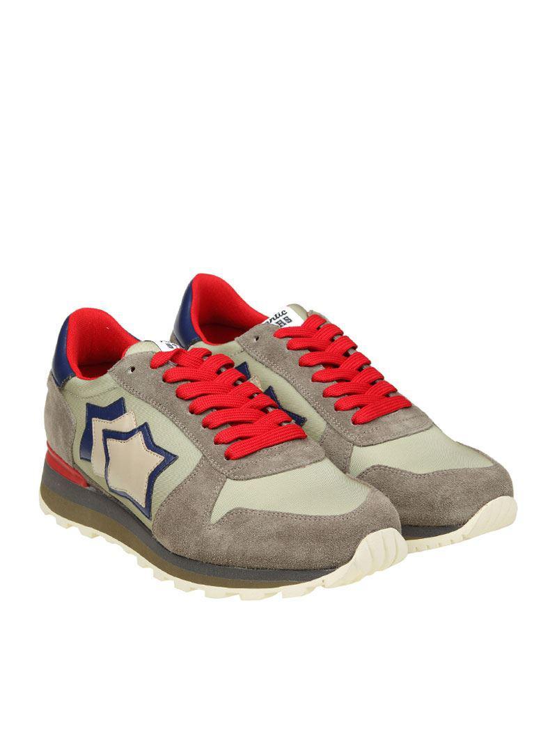 White and gray Sirius sneakers Atlantic Stars dzKm8xV