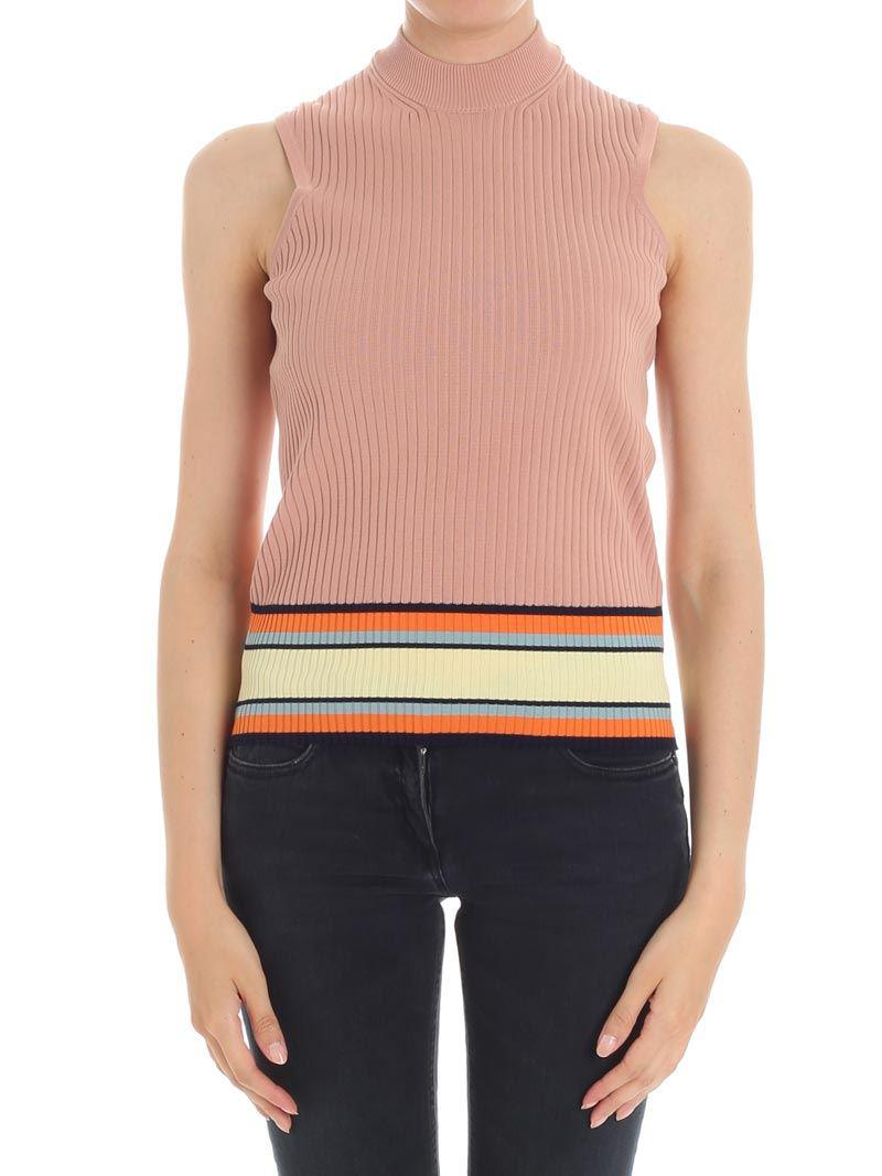 Antique pink ribbed top Paul Smith Get Authentic Cheap Online Discount 2018 New Outlet Wide Range Of I5DggE