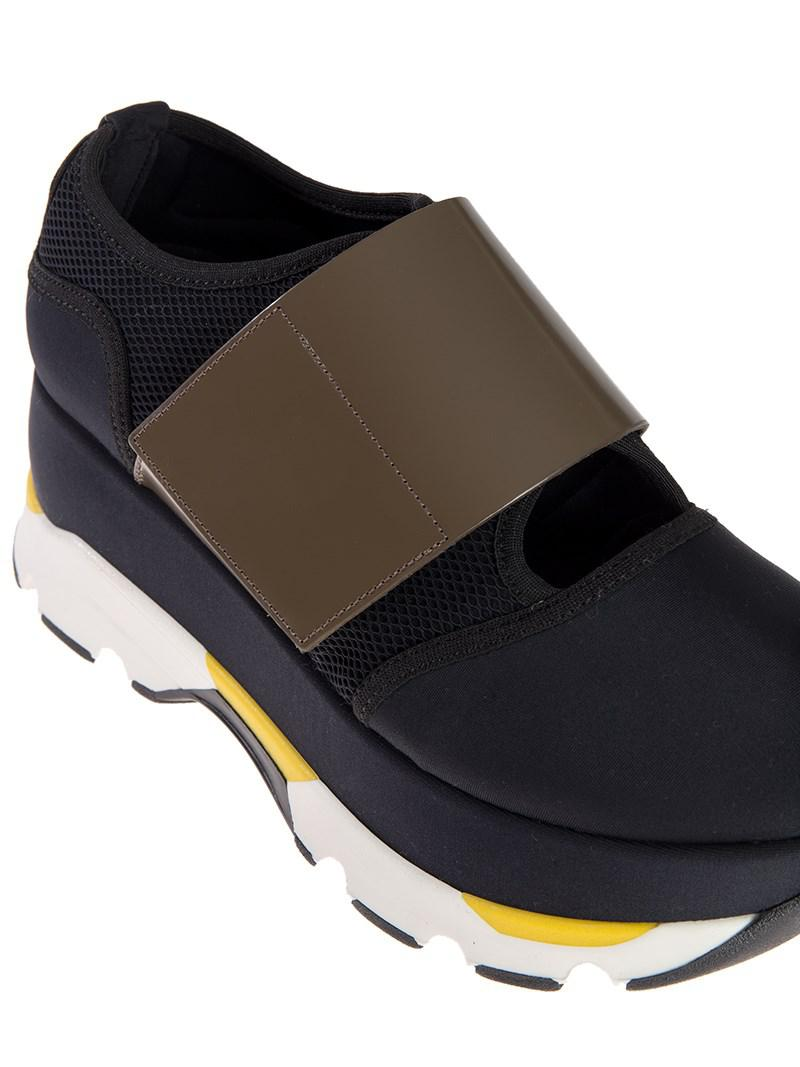 Marni Rubber Sneakers in Blue