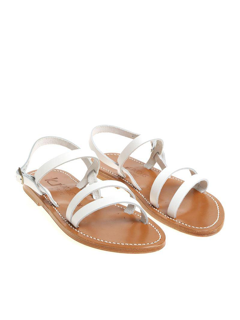 White Isis sandals K.Jacques