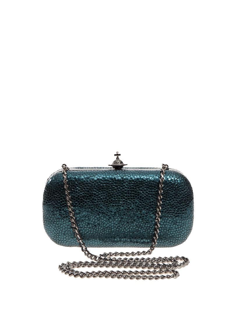 3441c309d2d0 Lyst - Vivienne Westwood Verona Clutch Bag in Blue