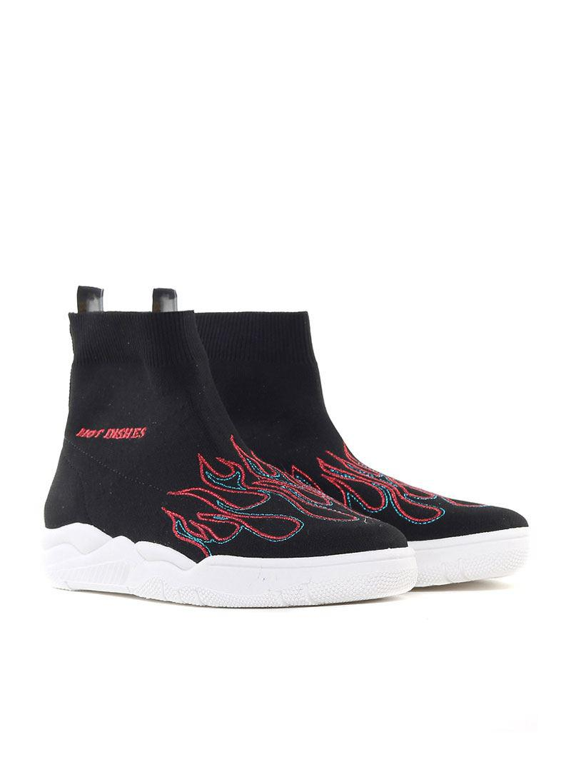 Black Hot Dishes sneakers Chiara Ferragni O2KmyTy54